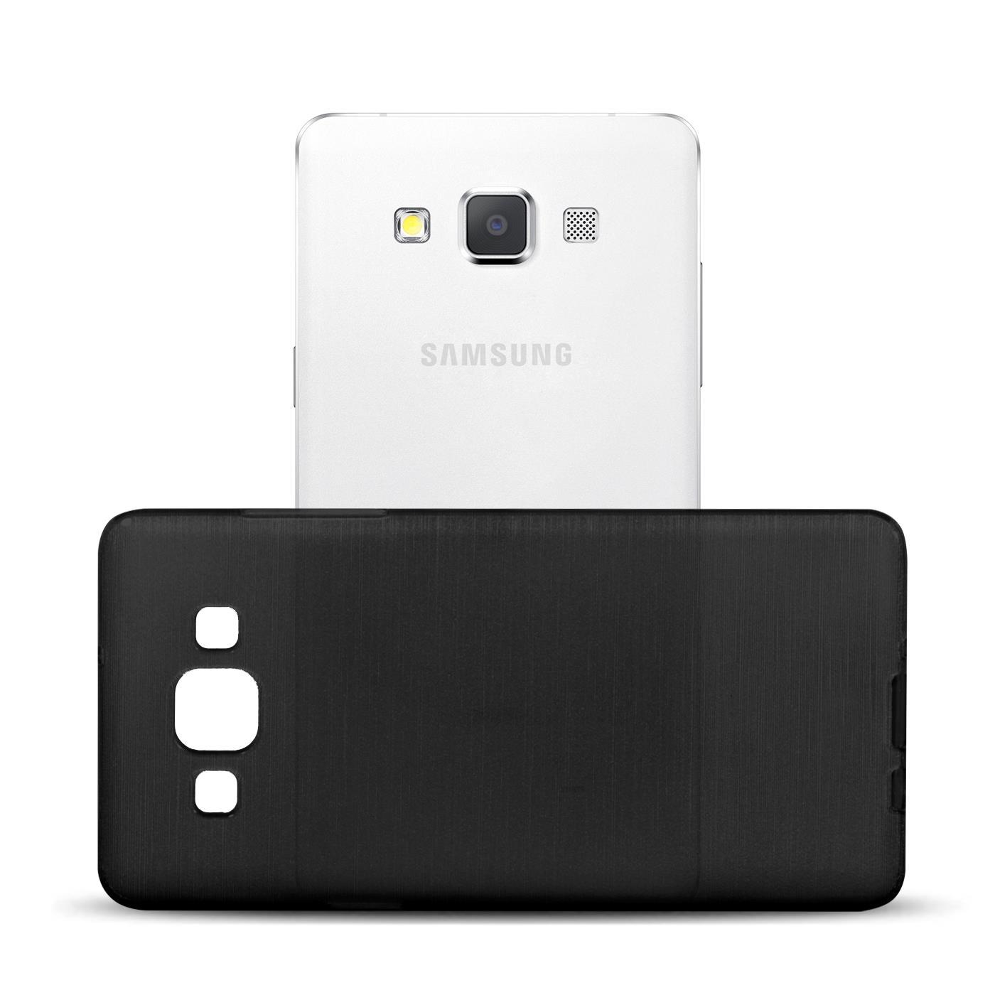 Silikon-Bumper-Case-Samsung-Galaxy-a5-2015-Ultra-Slim-Stossfeste-Rueckschale Indexbild 20