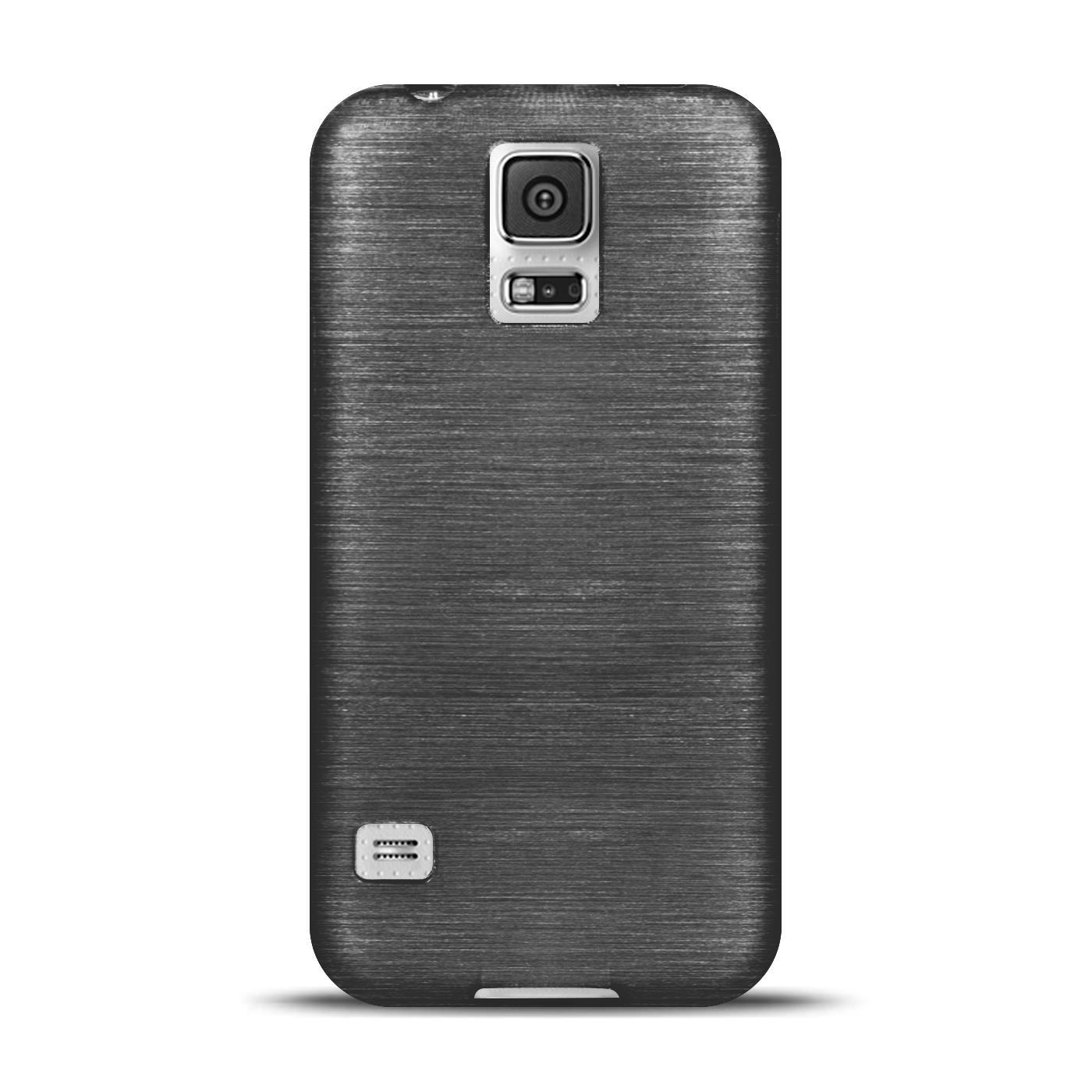 Silikon-Bumper-Case-Samsung-Galaxy-s5-Neo-duenne-ultra-slim-Stossfeste-Rueckschale Indexbild 6