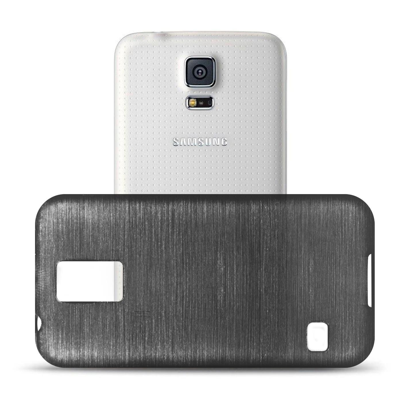 Silikon-Bumper-Case-Samsung-Galaxy-s5-Neo-duenne-ultra-slim-Stossfeste-Rueckschale Indexbild 8