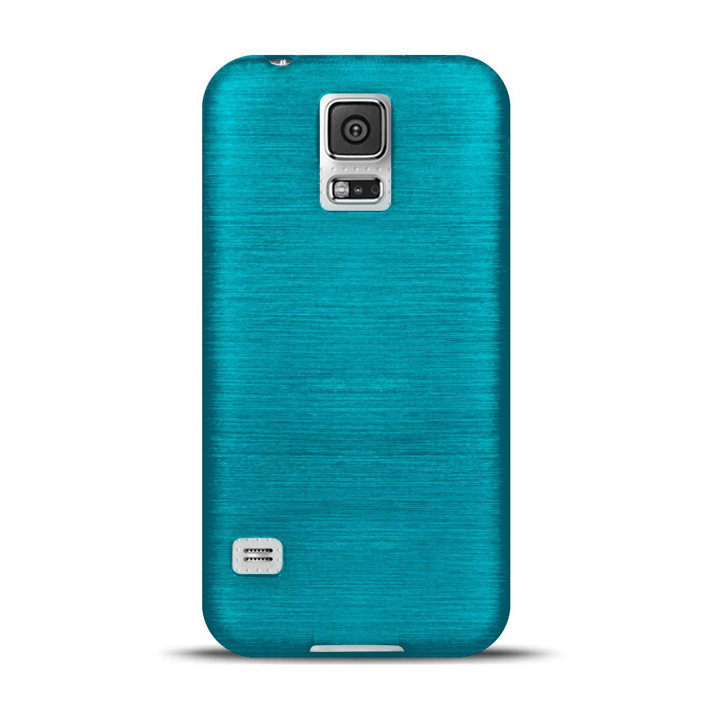 Silikon-Bumper-Case-Samsung-Galaxy-s5-Neo-duenne-ultra-slim-Stossfeste-Rueckschale Indexbild 10