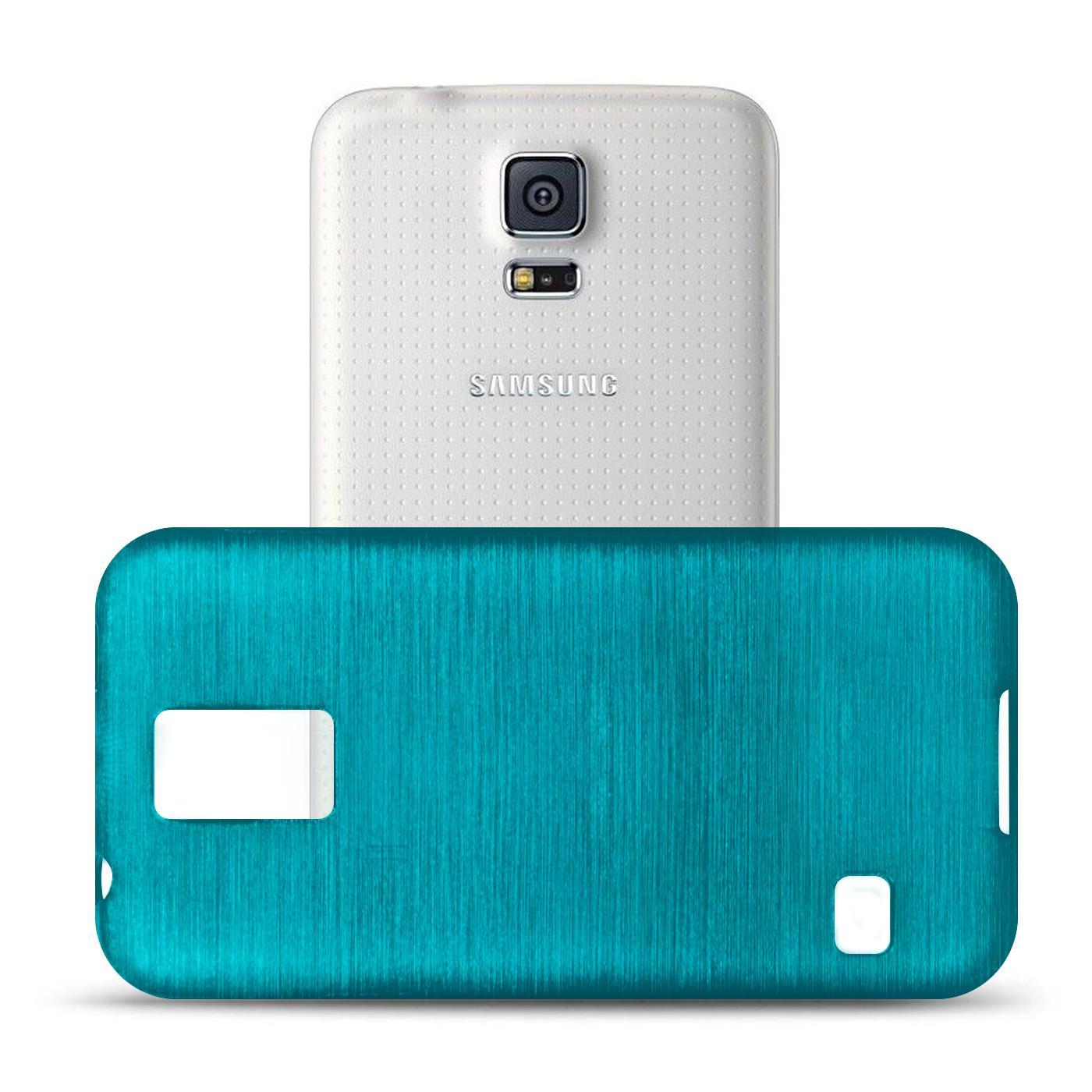 Silikon-Bumper-Case-Samsung-Galaxy-s5-Neo-duenne-ultra-slim-Stossfeste-Rueckschale Indexbild 12