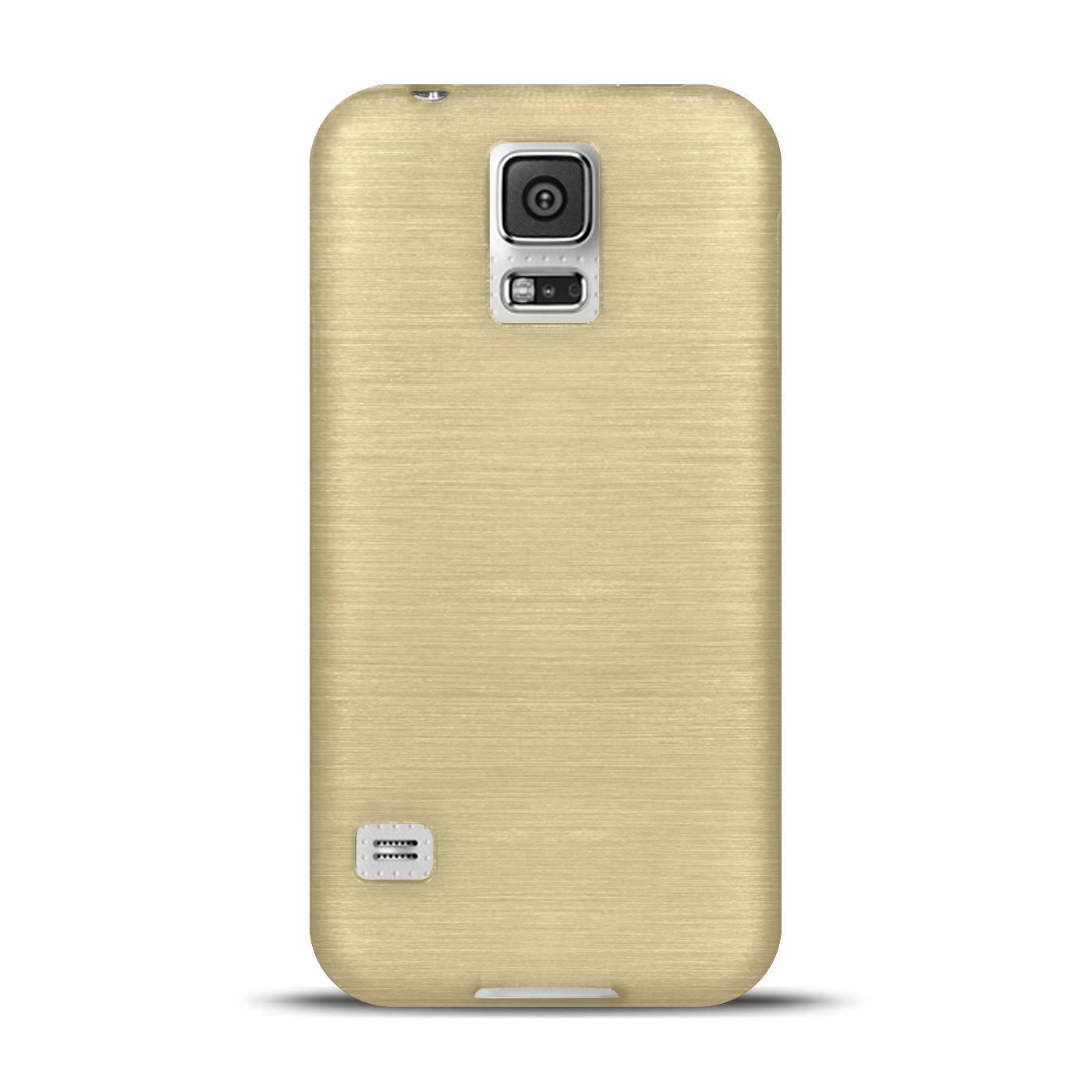 Silikon-Bumper-Case-Samsung-Galaxy-s5-Neo-duenne-ultra-slim-Stossfeste-Rueckschale Indexbild 14