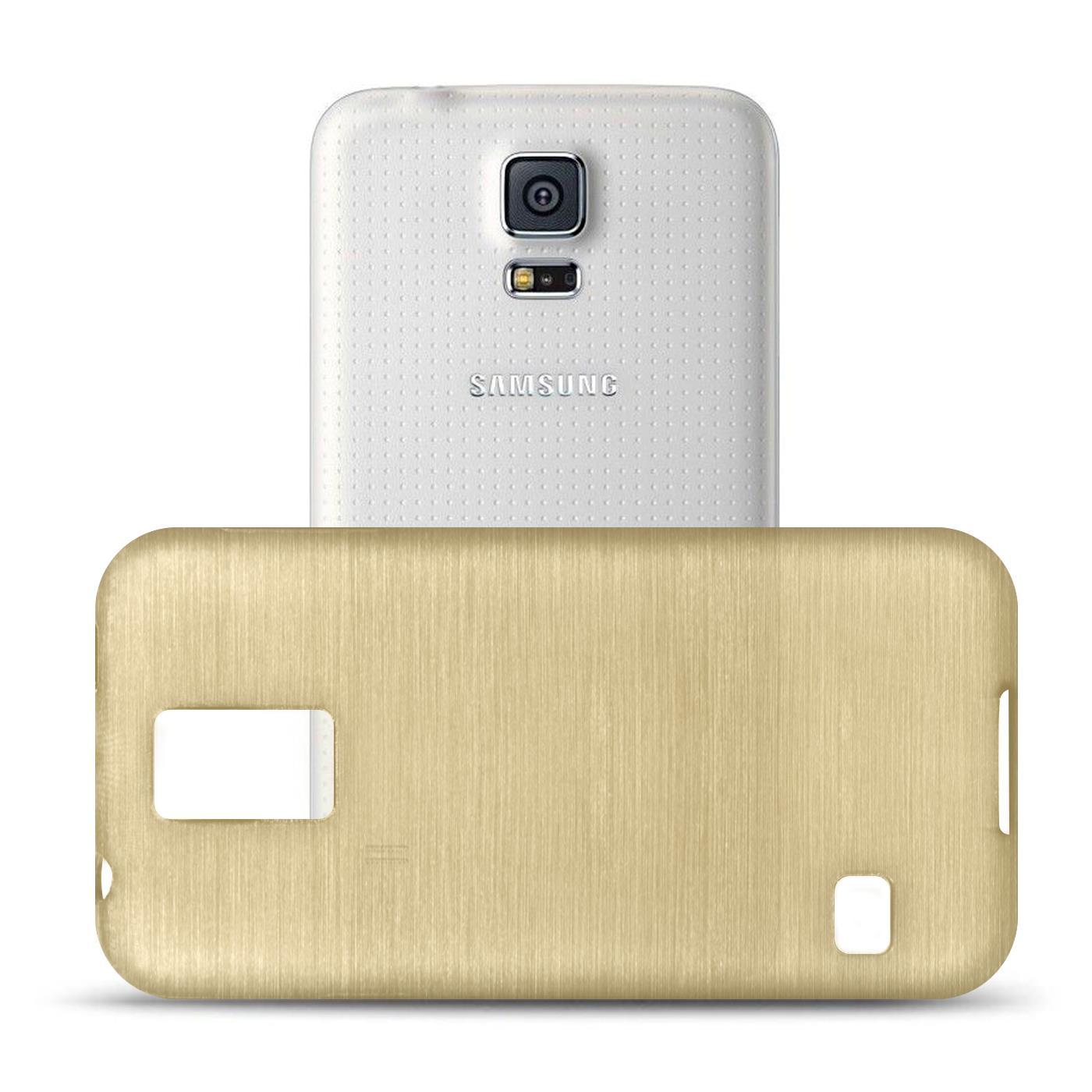 Silikon-Bumper-Case-Samsung-Galaxy-s5-Neo-duenne-ultra-slim-Stossfeste-Rueckschale Indexbild 16