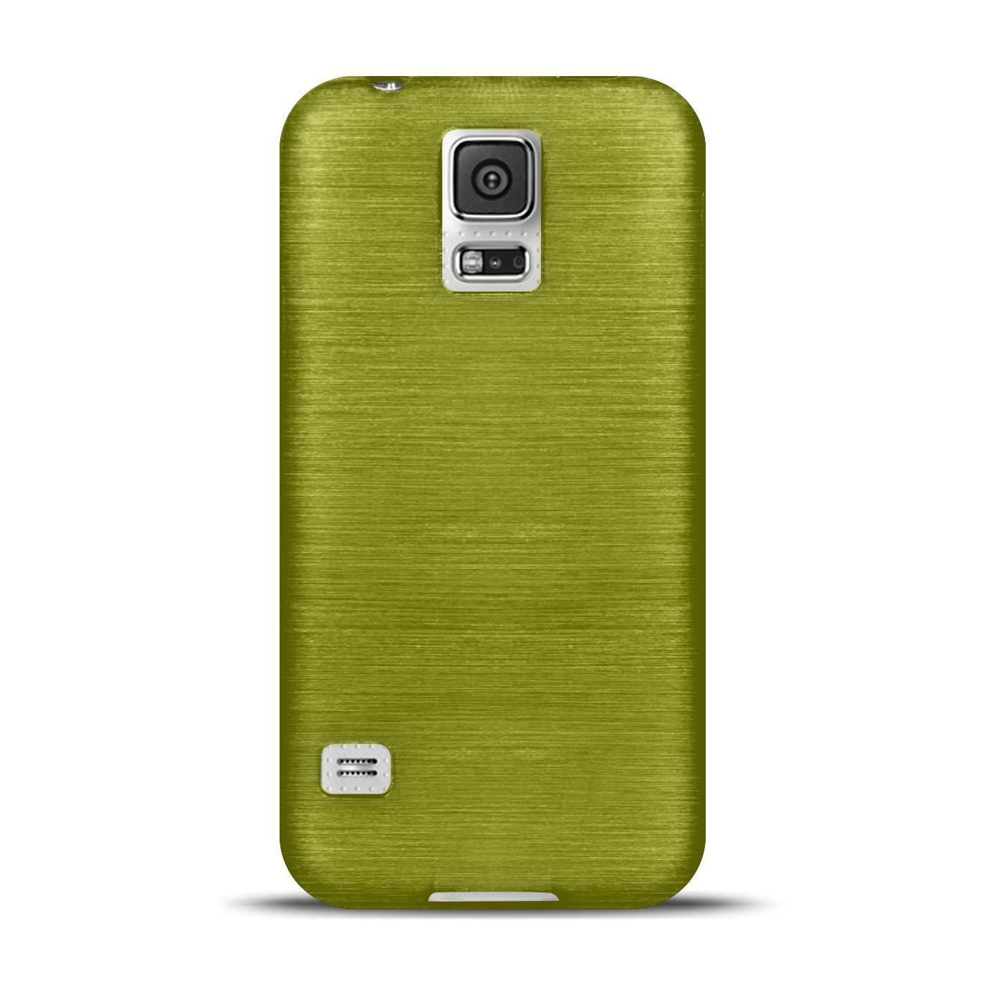 Silikon-Bumper-Case-Samsung-Galaxy-s5-Neo-duenne-ultra-slim-Stossfeste-Rueckschale Indexbild 18