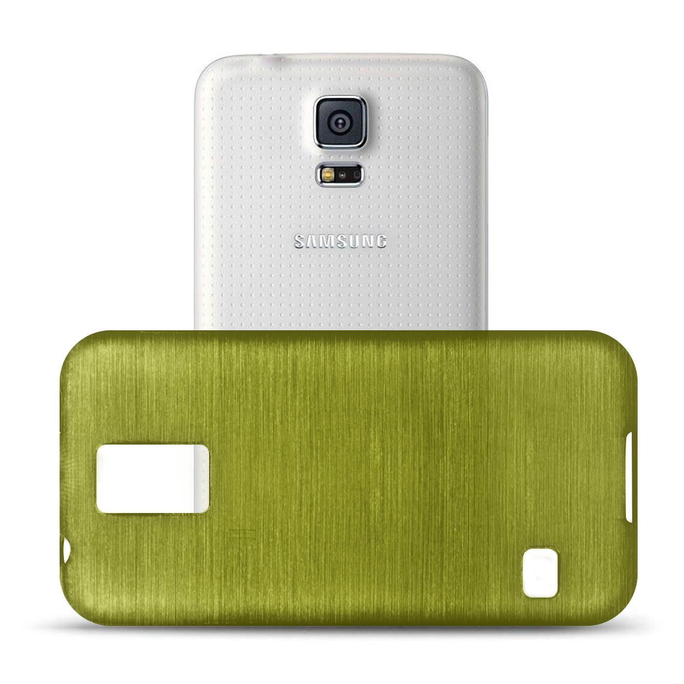 Silikon-Bumper-Case-Samsung-Galaxy-s5-Neo-duenne-ultra-slim-Stossfeste-Rueckschale Indexbild 20