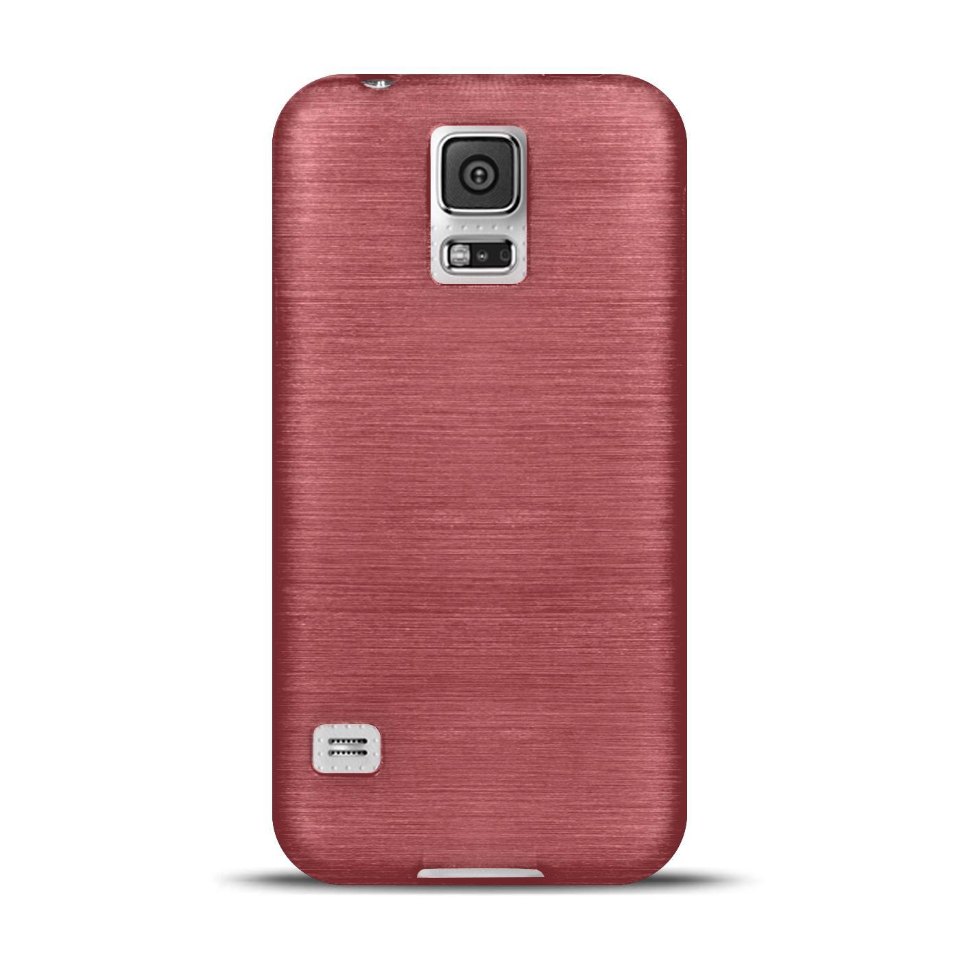 Silikon-Bumper-Case-Samsung-Galaxy-s5-Neo-duenne-ultra-slim-Stossfeste-Rueckschale Indexbild 22