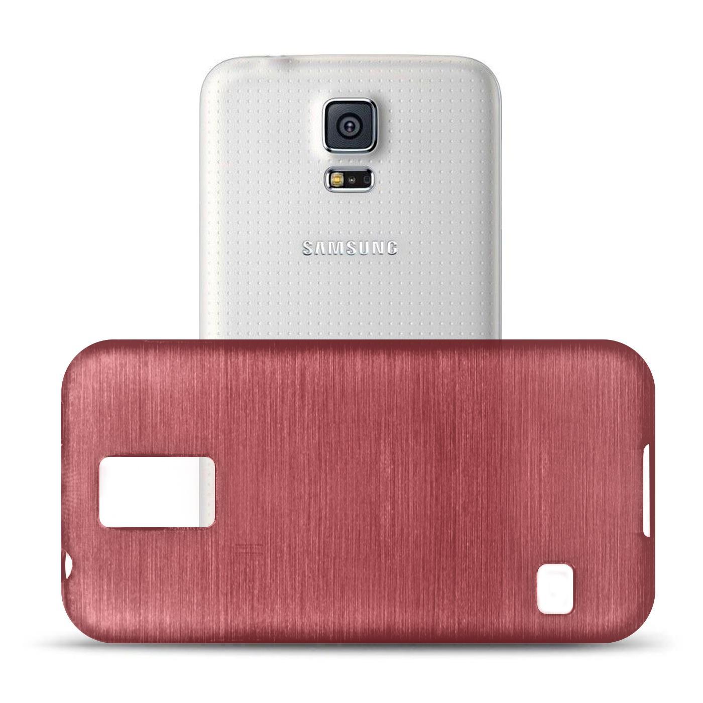 Silikon-Bumper-Case-Samsung-Galaxy-s5-Neo-duenne-ultra-slim-Stossfeste-Rueckschale Indexbild 24