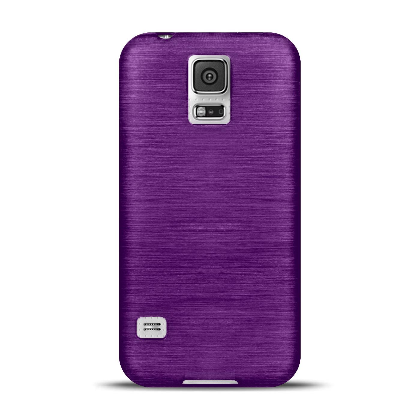Silikon-Bumper-Case-Samsung-Galaxy-s5-Neo-duenne-ultra-slim-Stossfeste-Rueckschale Indexbild 26