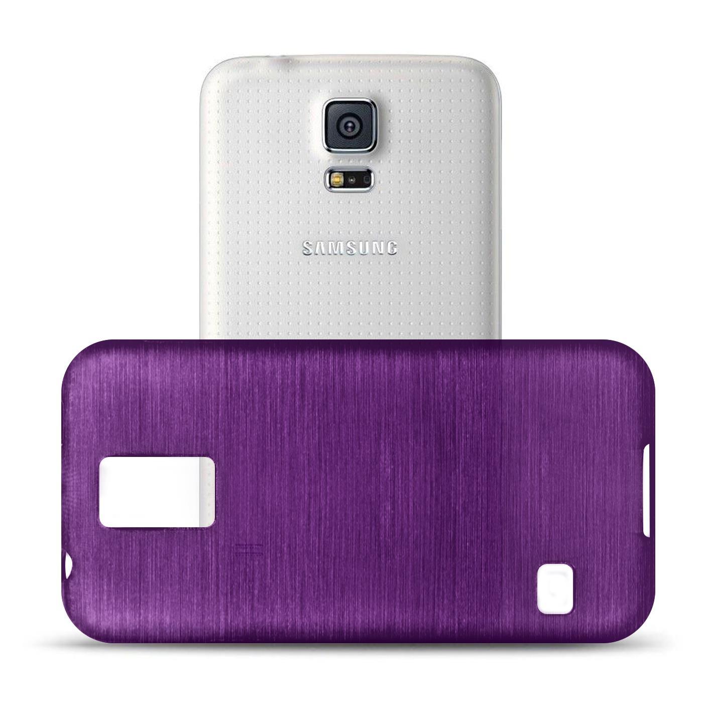 Silikon-Bumper-Case-Samsung-Galaxy-s5-Neo-duenne-ultra-slim-Stossfeste-Rueckschale Indexbild 28