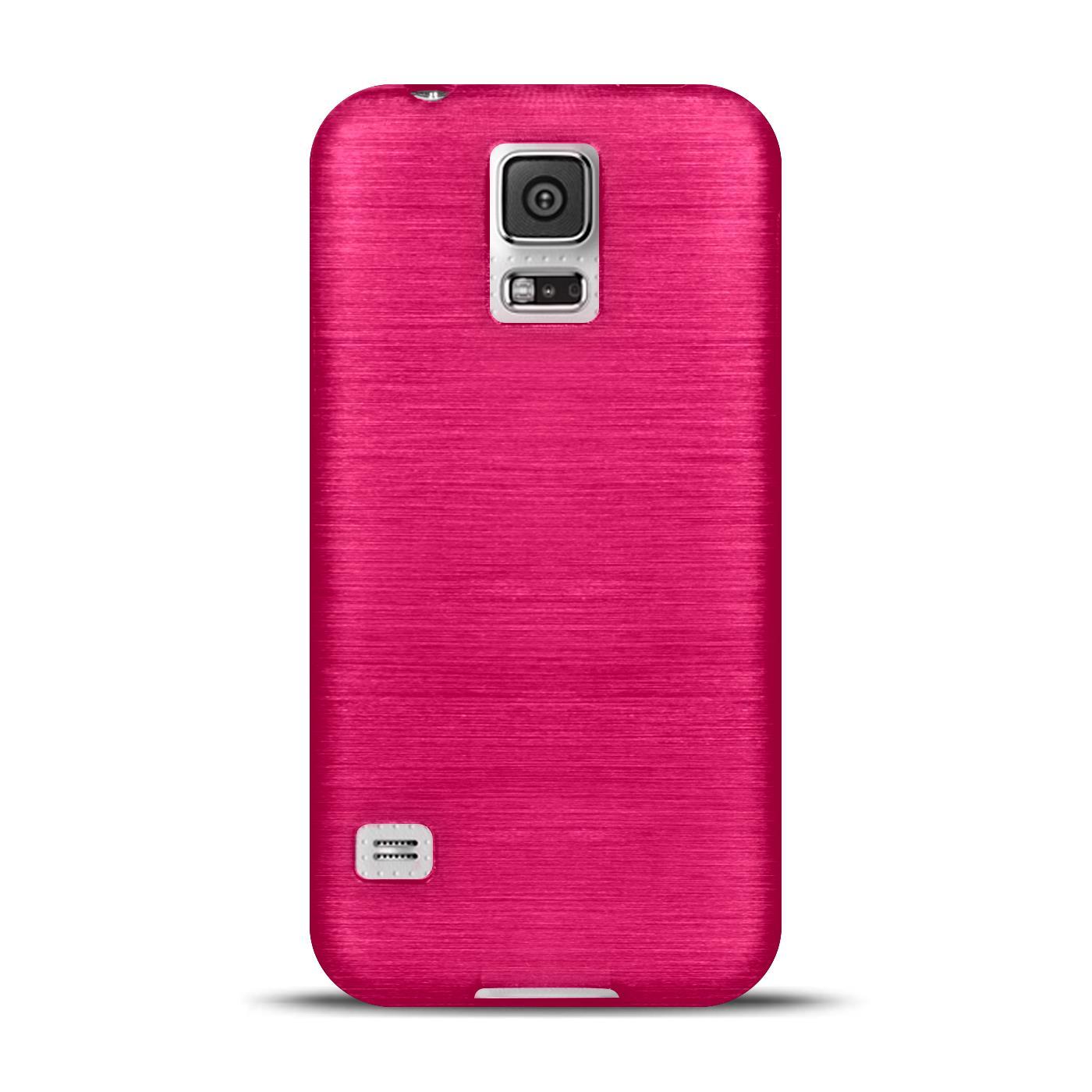 Silikon-Bumper-Case-Samsung-Galaxy-s5-Neo-duenne-ultra-slim-Stossfeste-Rueckschale Indexbild 30