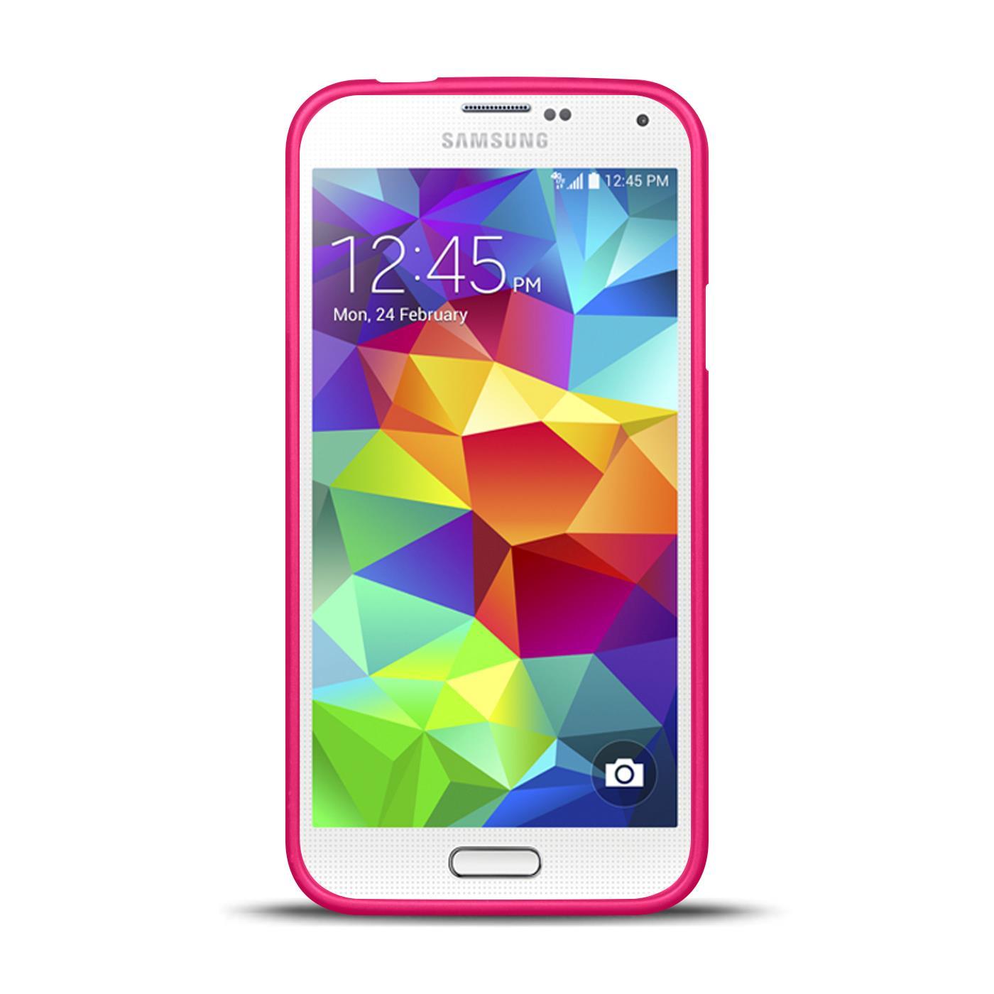 Silikon-Bumper-Case-Samsung-Galaxy-s5-Neo-duenne-ultra-slim-Stossfeste-Rueckschale Indexbild 31