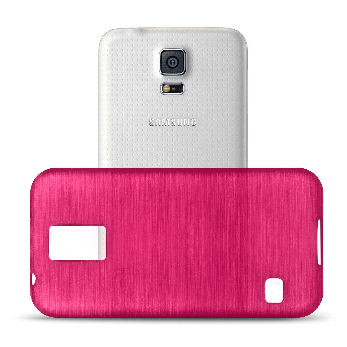 Silikon-Bumper-Case-Samsung-Galaxy-s5-Neo-duenne-ultra-slim-Stossfeste-Rueckschale Indexbild 32