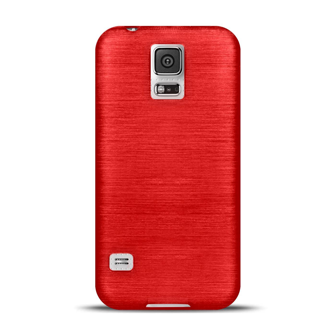 Silikon-Bumper-Case-Samsung-Galaxy-s5-Neo-duenne-ultra-slim-Stossfeste-Rueckschale Indexbild 34