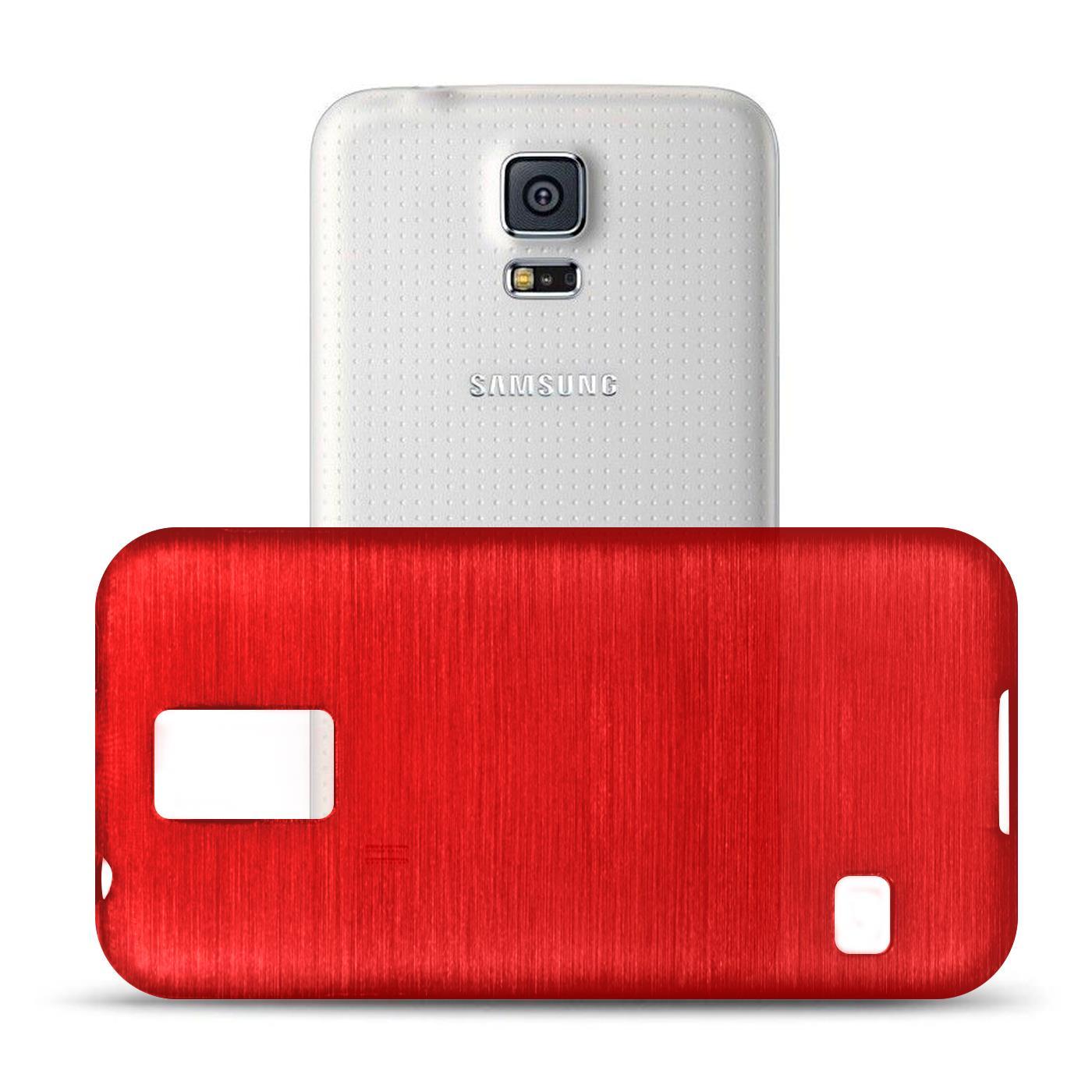 Silikon-Bumper-Case-Samsung-Galaxy-s5-Neo-duenne-ultra-slim-Stossfeste-Rueckschale Indexbild 36