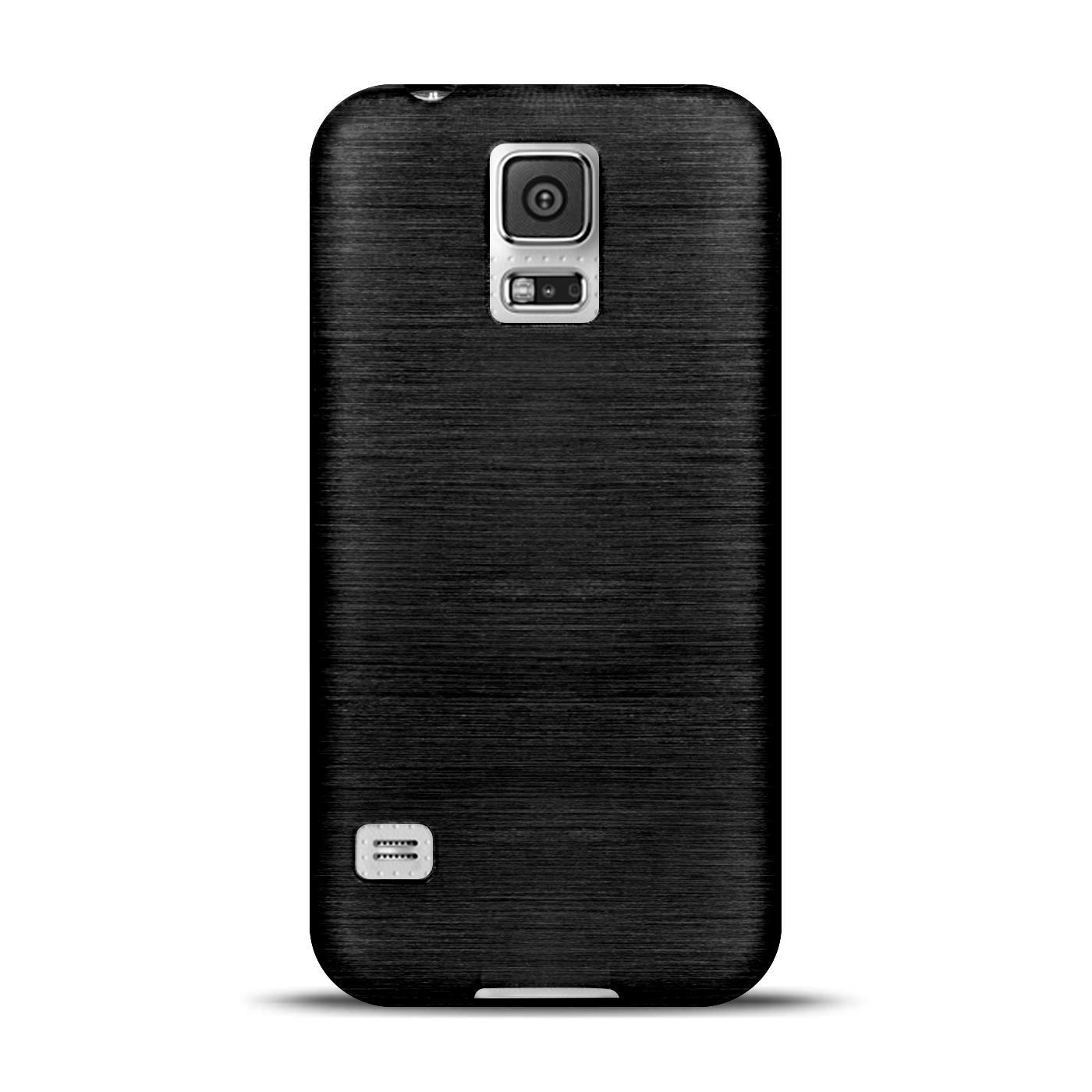 Silikon-Bumper-Case-Samsung-Galaxy-s5-Neo-duenne-ultra-slim-Stossfeste-Rueckschale Indexbild 38