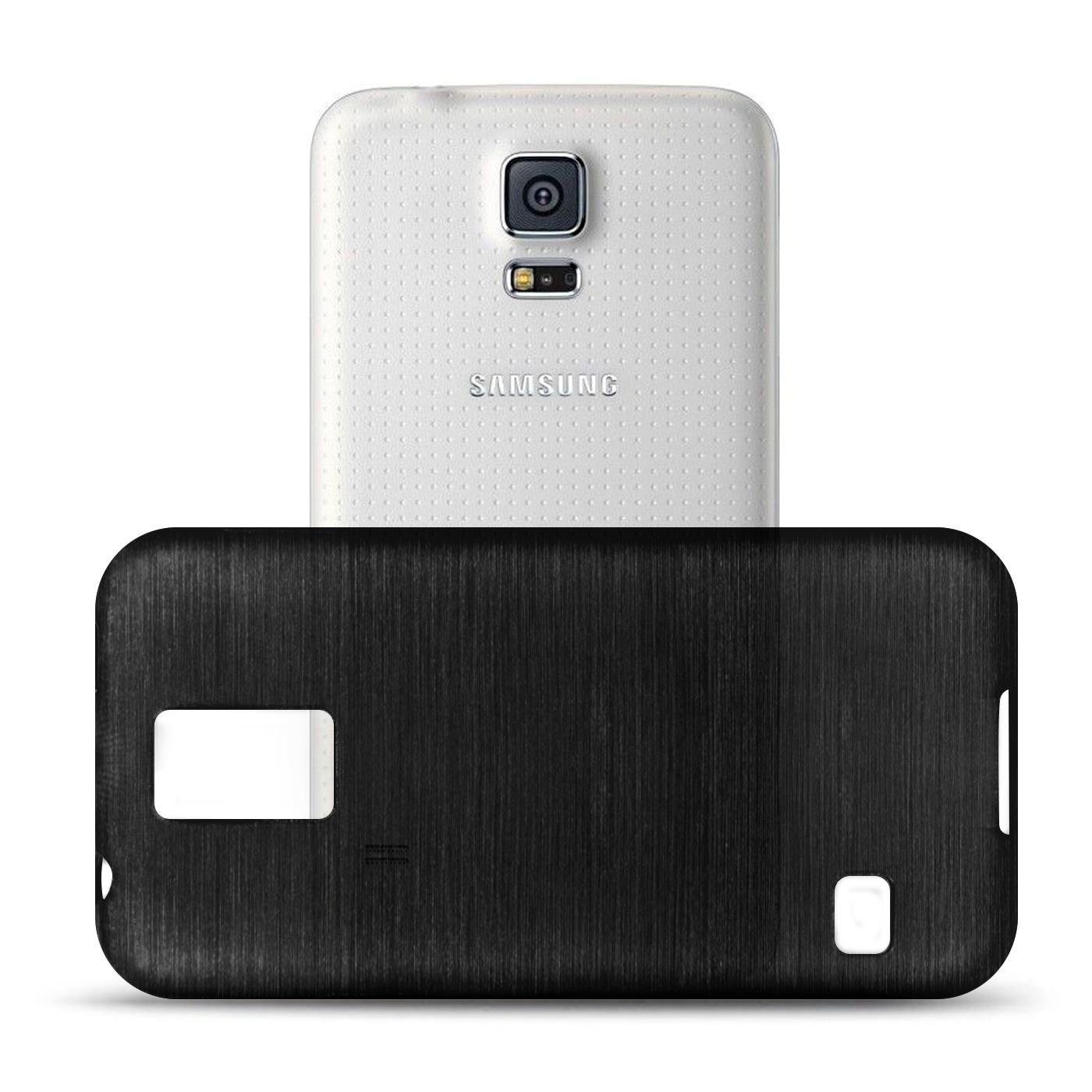 Silikon-Bumper-Case-Samsung-Galaxy-s5-Neo-duenne-ultra-slim-Stossfeste-Rueckschale Indexbild 40