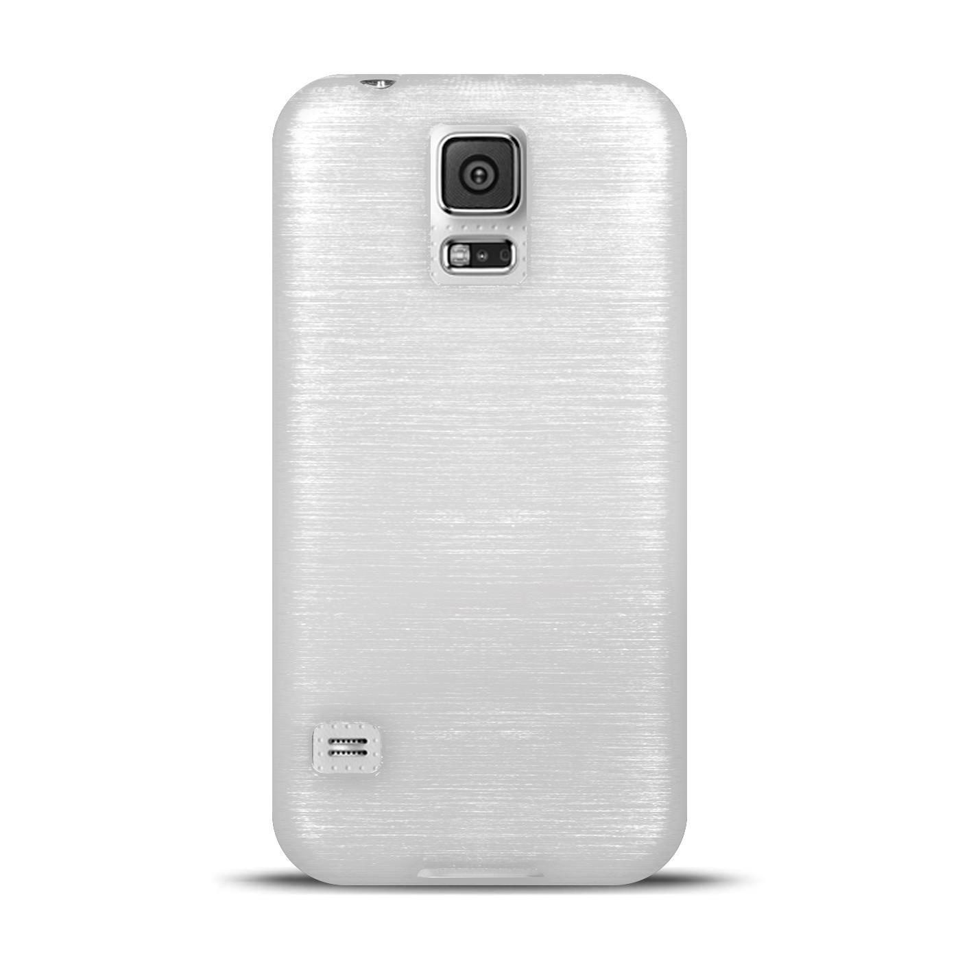 Silikon-Bumper-Case-Samsung-Galaxy-s5-Neo-duenne-ultra-slim-Stossfeste-Rueckschale Indexbild 42