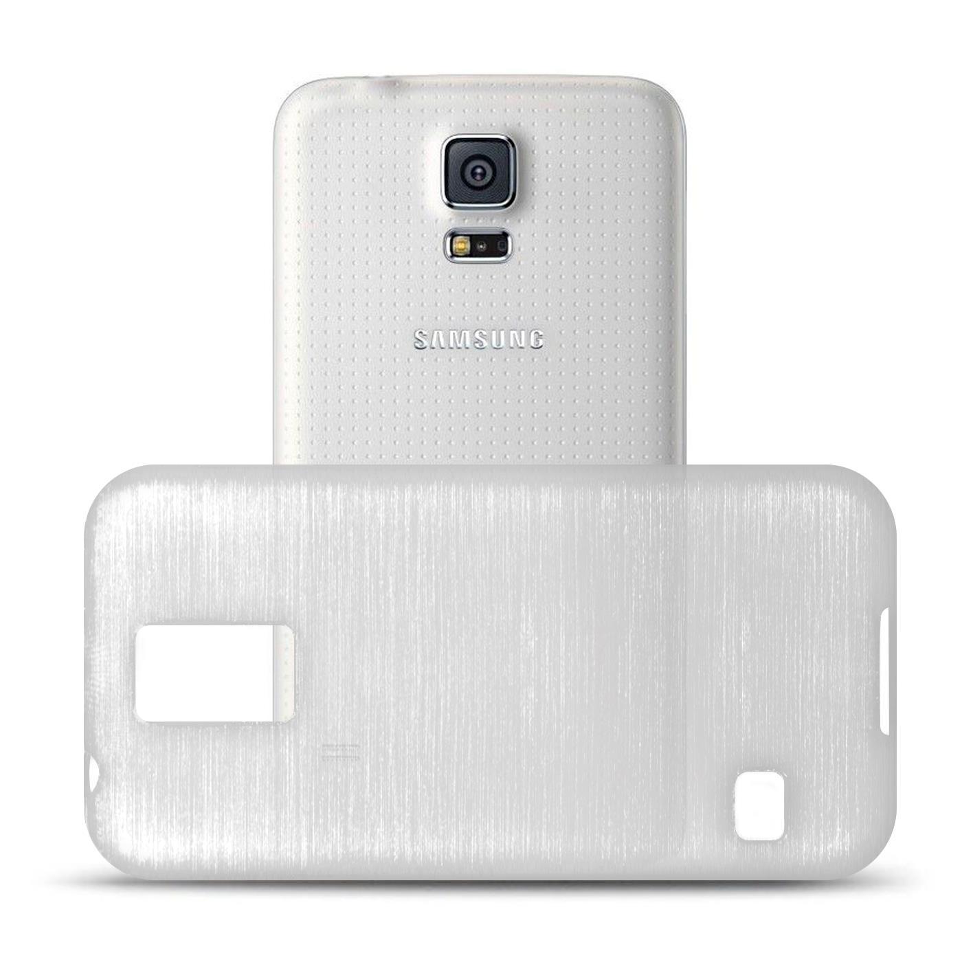 Silikon-Bumper-Case-Samsung-Galaxy-s5-Neo-duenne-ultra-slim-Stossfeste-Rueckschale Indexbild 44