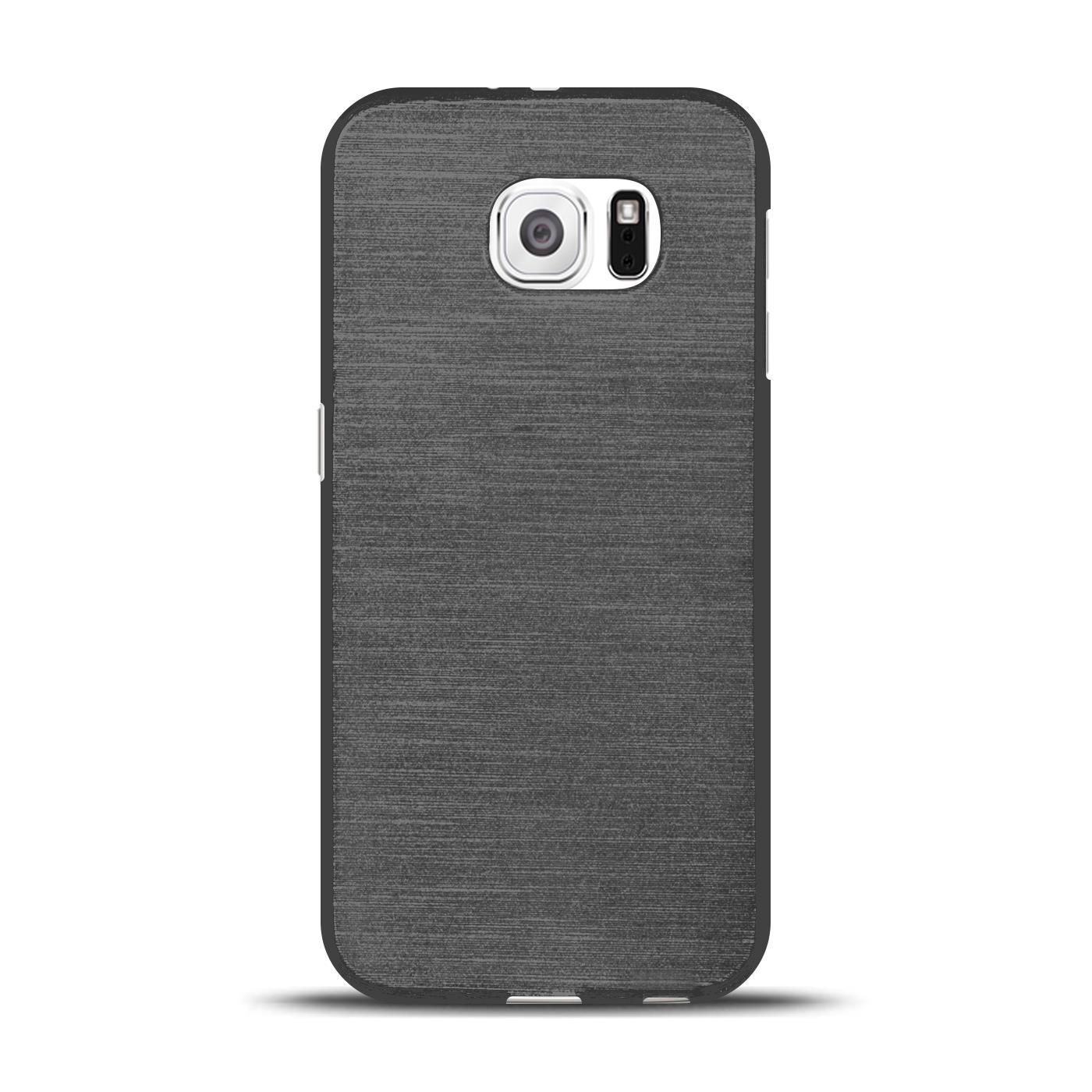 Silikon-Bumper-Case-fuer-Samsung-Galaxy-s6-duenne-ultra-slim-Stossfeste-Rueckschale Indexbild 6