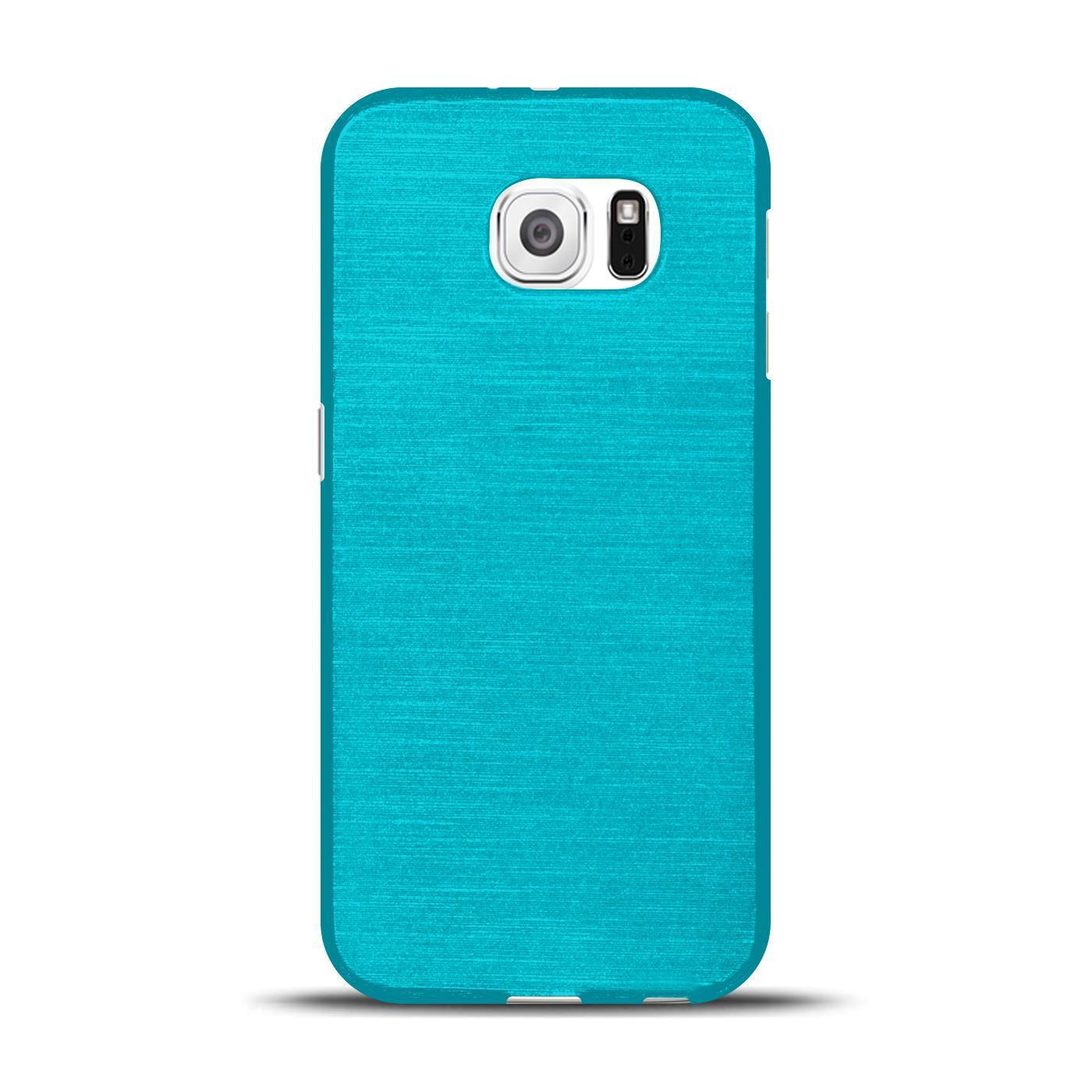 Silikon-Bumper-Case-fuer-Samsung-Galaxy-s6-duenne-ultra-slim-Stossfeste-Rueckschale Indexbild 10