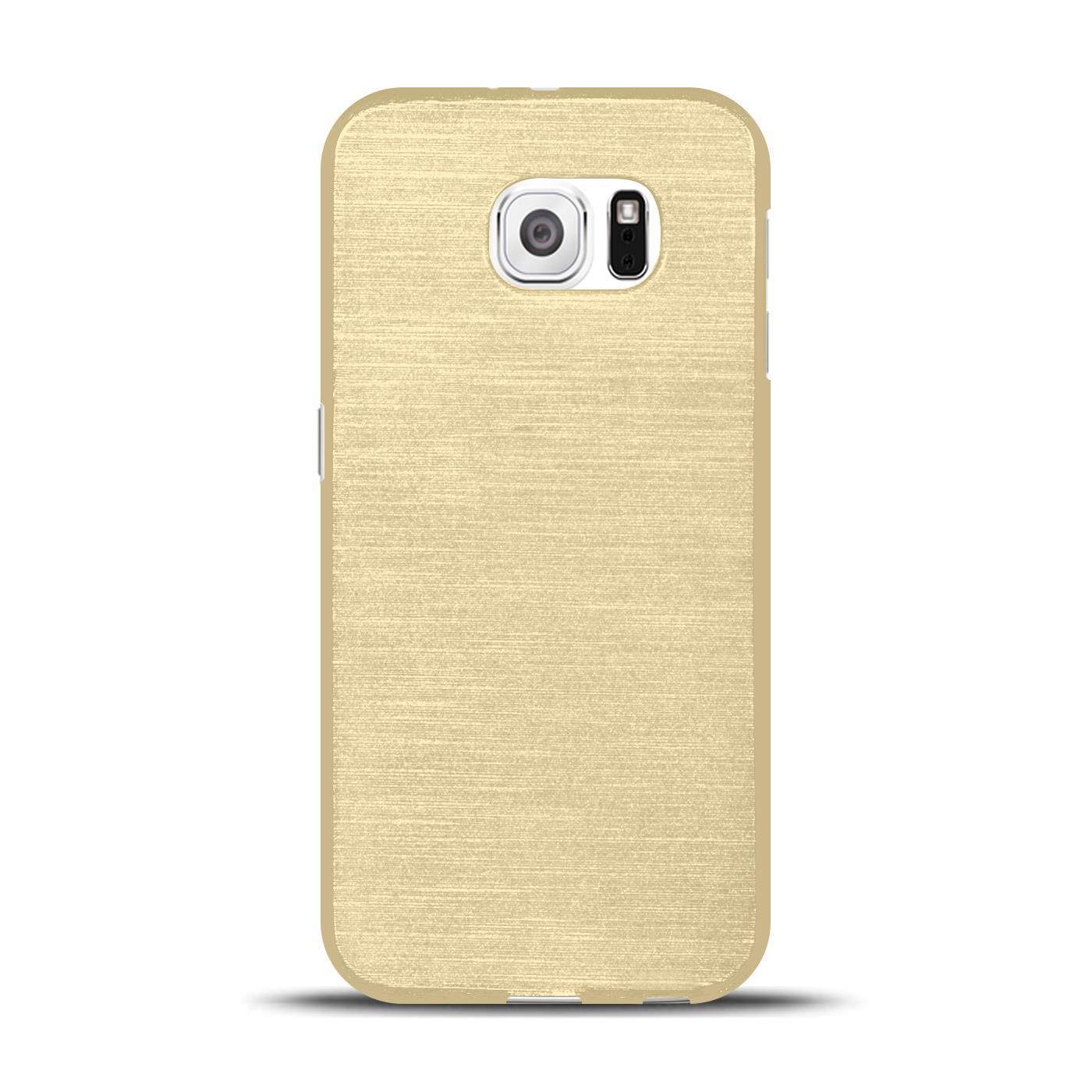 Silikon-Bumper-Case-fuer-Samsung-Galaxy-s6-duenne-ultra-slim-Stossfeste-Rueckschale Indexbild 14