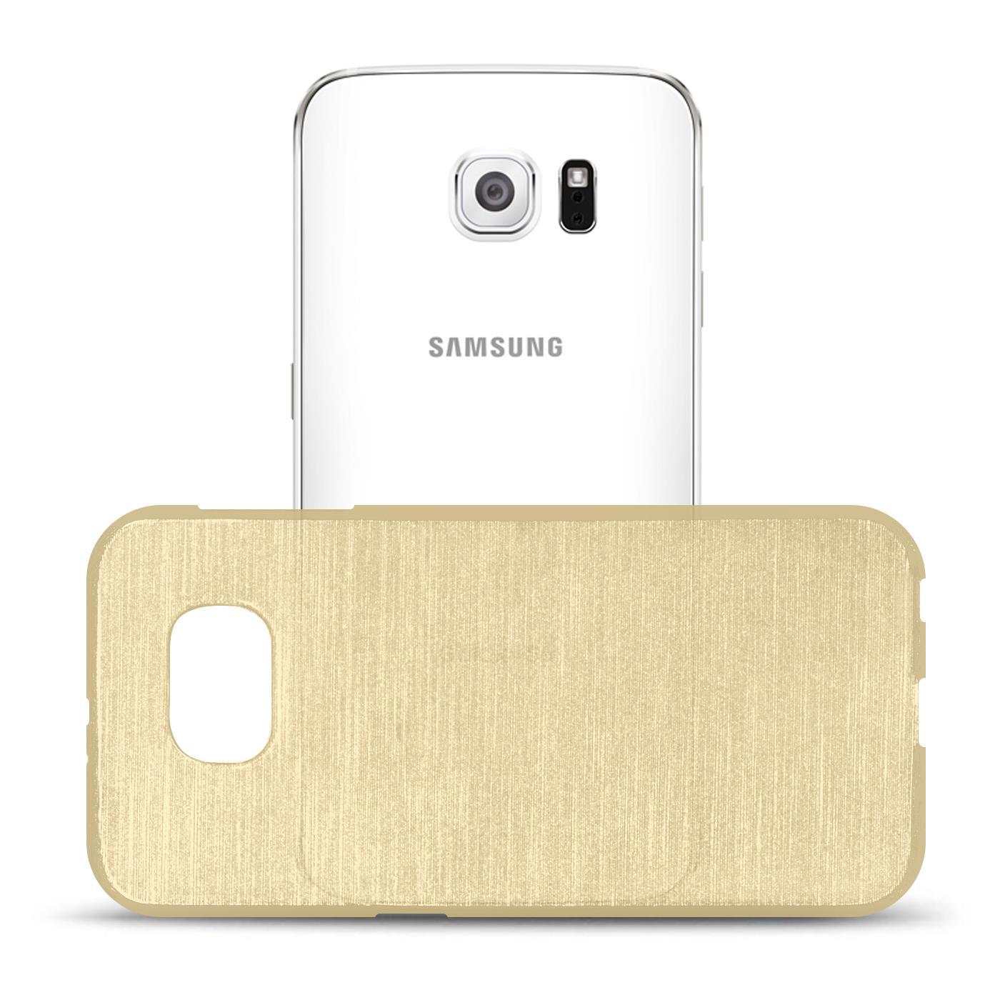 Silikon-Bumper-Case-fuer-Samsung-Galaxy-s6-duenne-ultra-slim-Stossfeste-Rueckschale Indexbild 16
