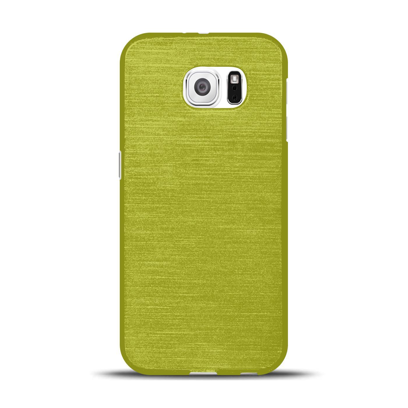 Silikon-Bumper-Case-fuer-Samsung-Galaxy-s6-duenne-ultra-slim-Stossfeste-Rueckschale Indexbild 18