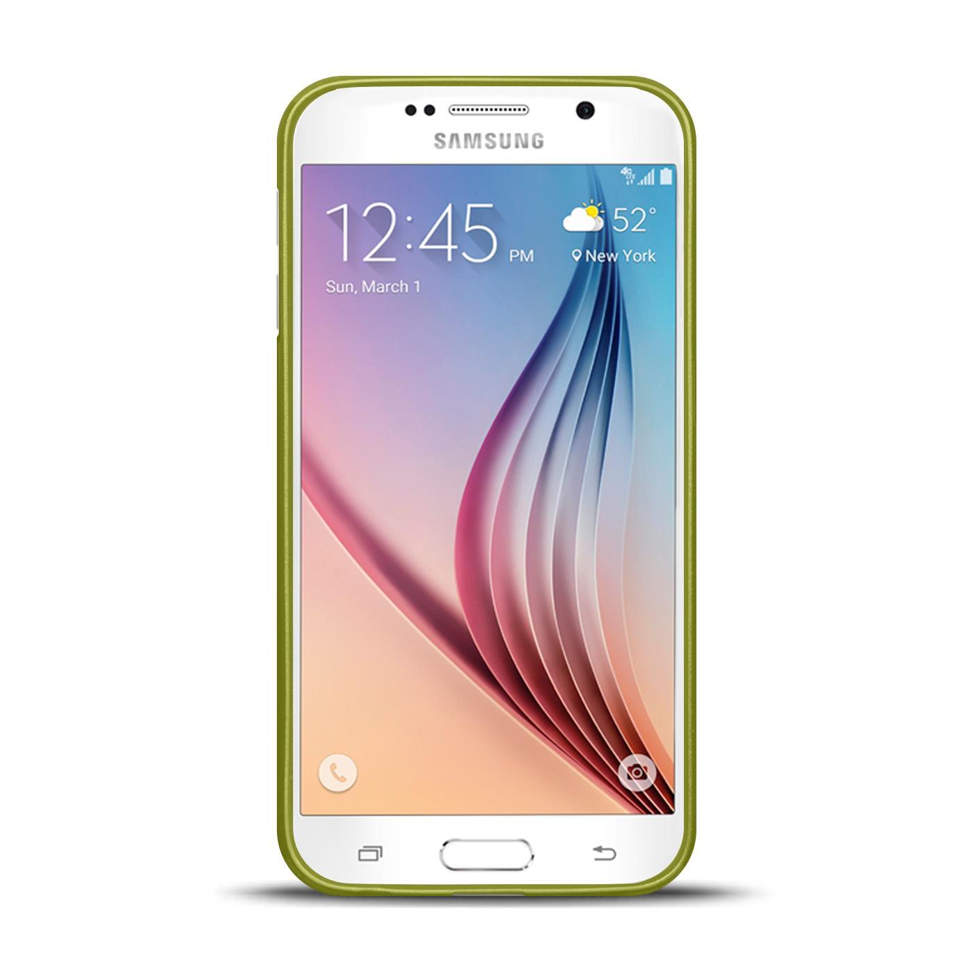 Silikon-Bumper-Case-fuer-Samsung-Galaxy-s6-duenne-ultra-slim-Stossfeste-Rueckschale Indexbild 19