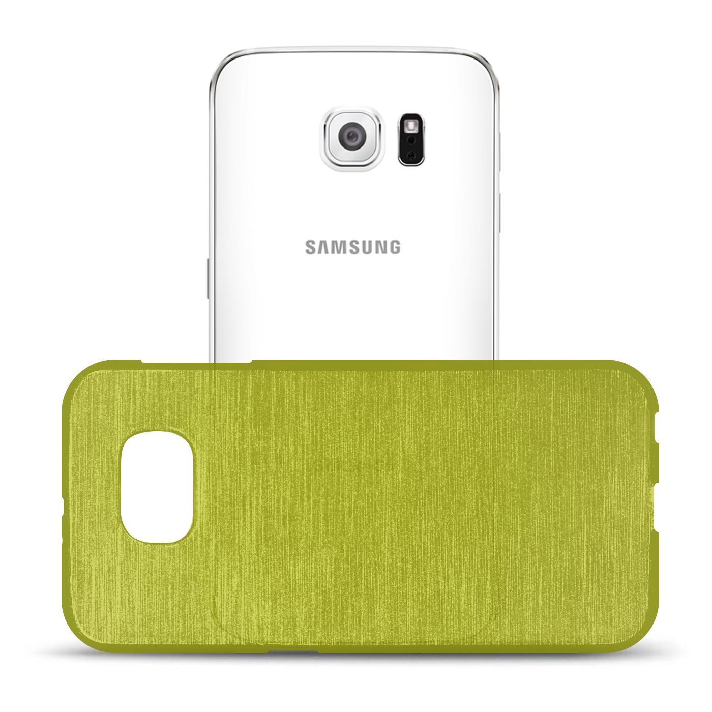 Silikon-Bumper-Case-fuer-Samsung-Galaxy-s6-duenne-ultra-slim-Stossfeste-Rueckschale Indexbild 20
