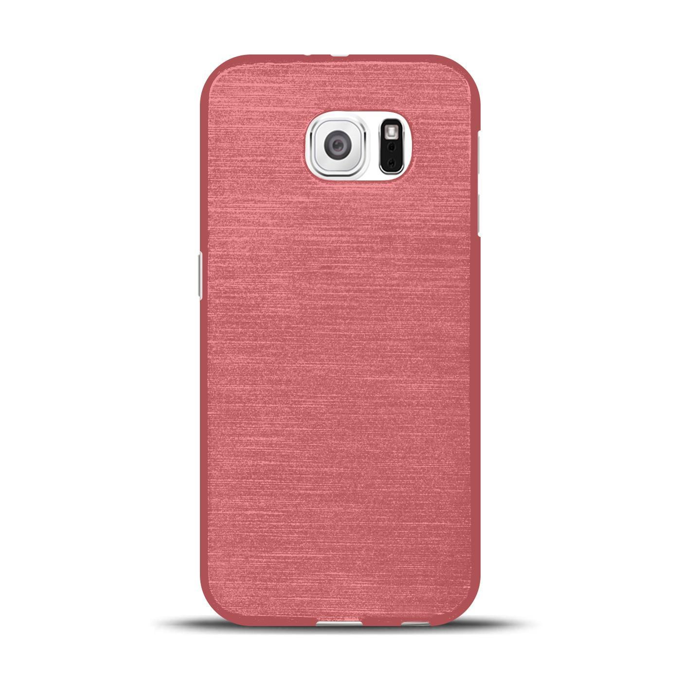 Silikon-Bumper-Case-fuer-Samsung-Galaxy-s6-duenne-ultra-slim-Stossfeste-Rueckschale Indexbild 22