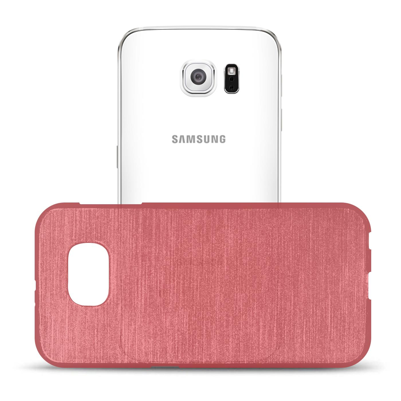 Silikon-Bumper-Case-fuer-Samsung-Galaxy-s6-duenne-ultra-slim-Stossfeste-Rueckschale Indexbild 24