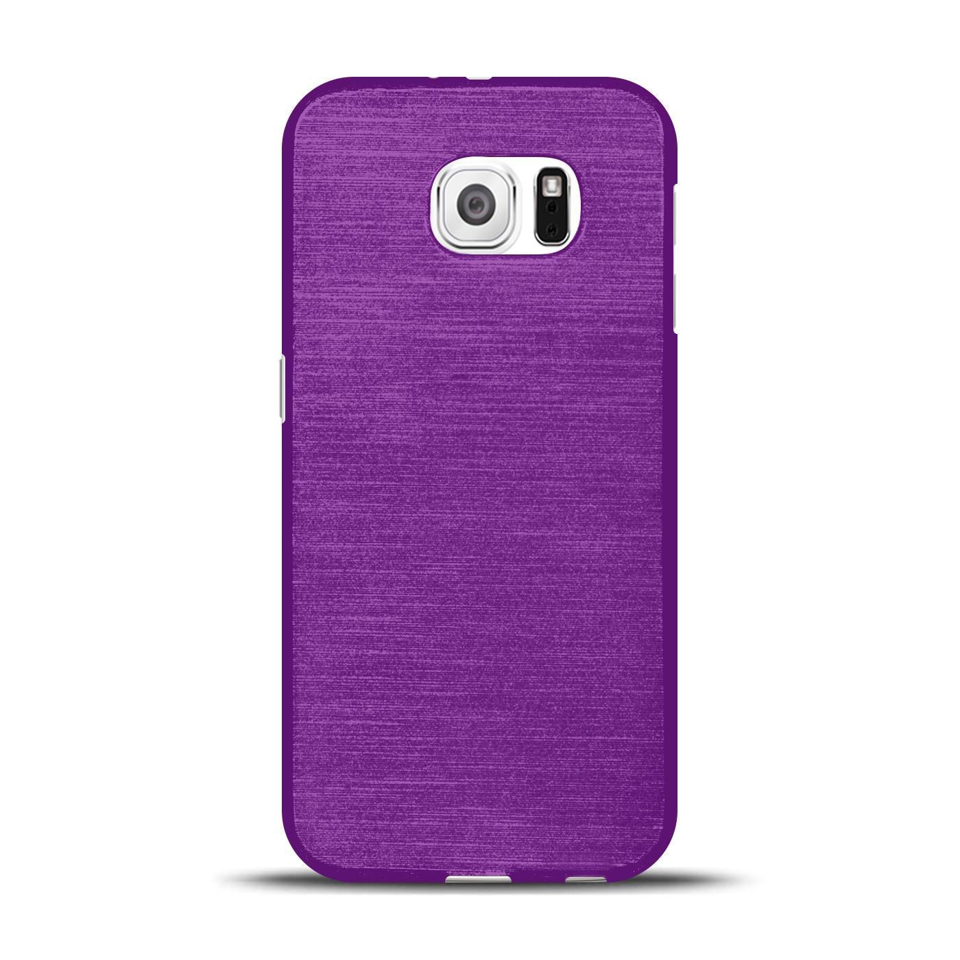 Silikon-Bumper-Case-fuer-Samsung-Galaxy-s6-duenne-ultra-slim-Stossfeste-Rueckschale Indexbild 26