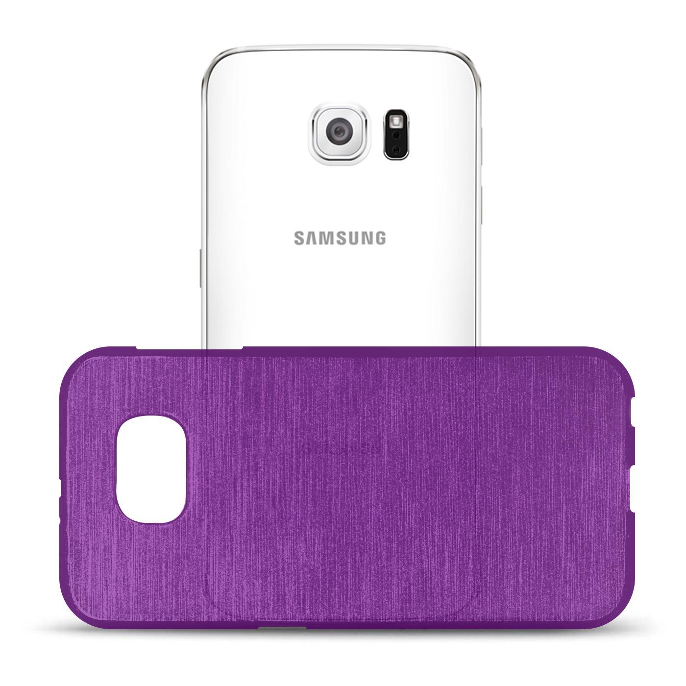 Silikon-Bumper-Case-fuer-Samsung-Galaxy-s6-duenne-ultra-slim-Stossfeste-Rueckschale Indexbild 28