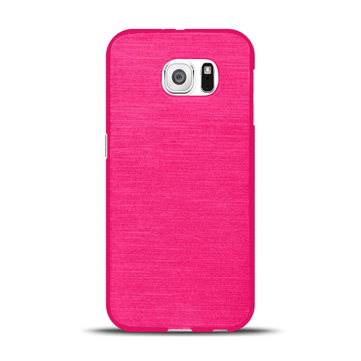 Silikon-Bumper-Case-fuer-Samsung-Galaxy-s6-duenne-ultra-slim-Stossfeste-Rueckschale Indexbild 30