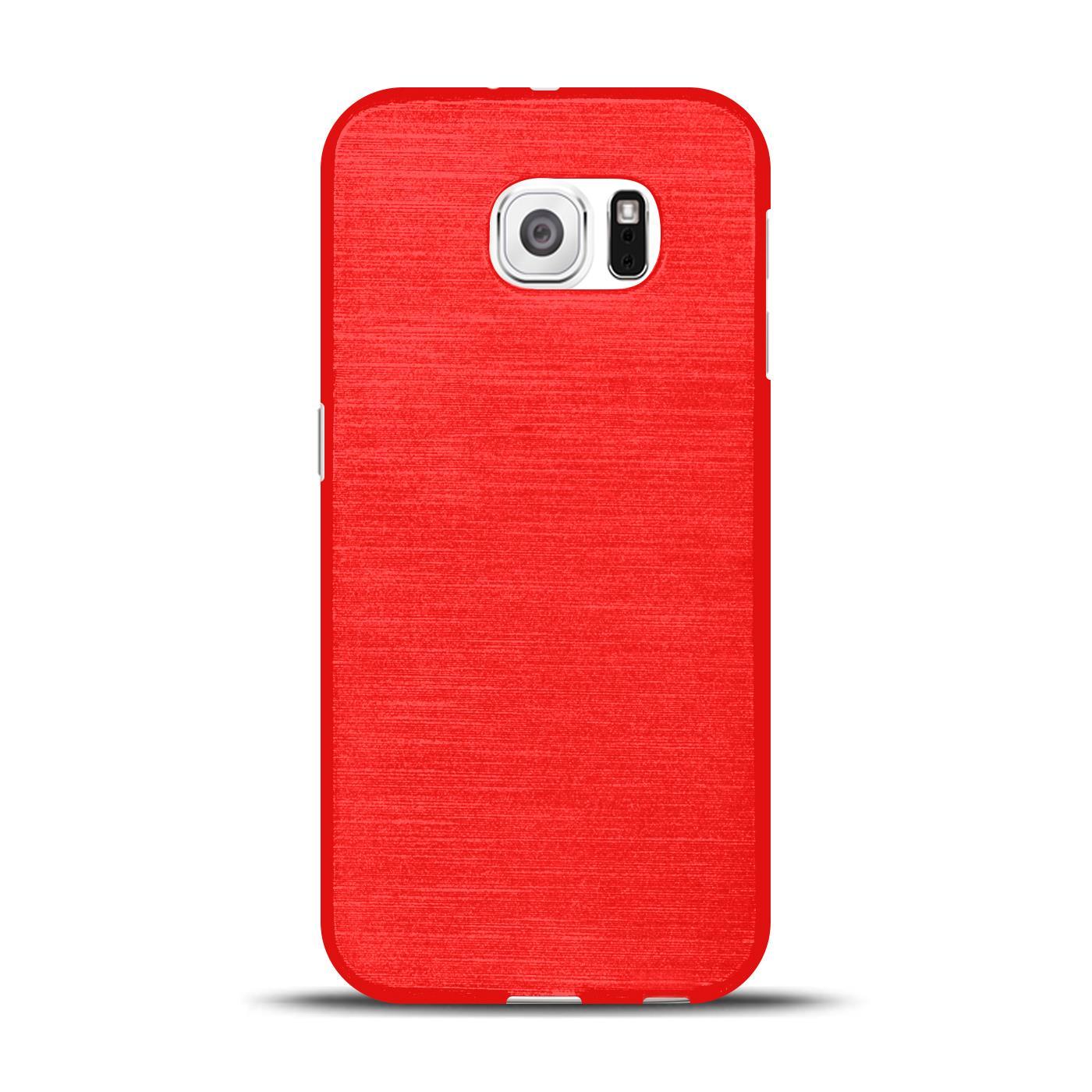 Silikon-Bumper-Case-fuer-Samsung-Galaxy-s6-duenne-ultra-slim-Stossfeste-Rueckschale Indexbild 34