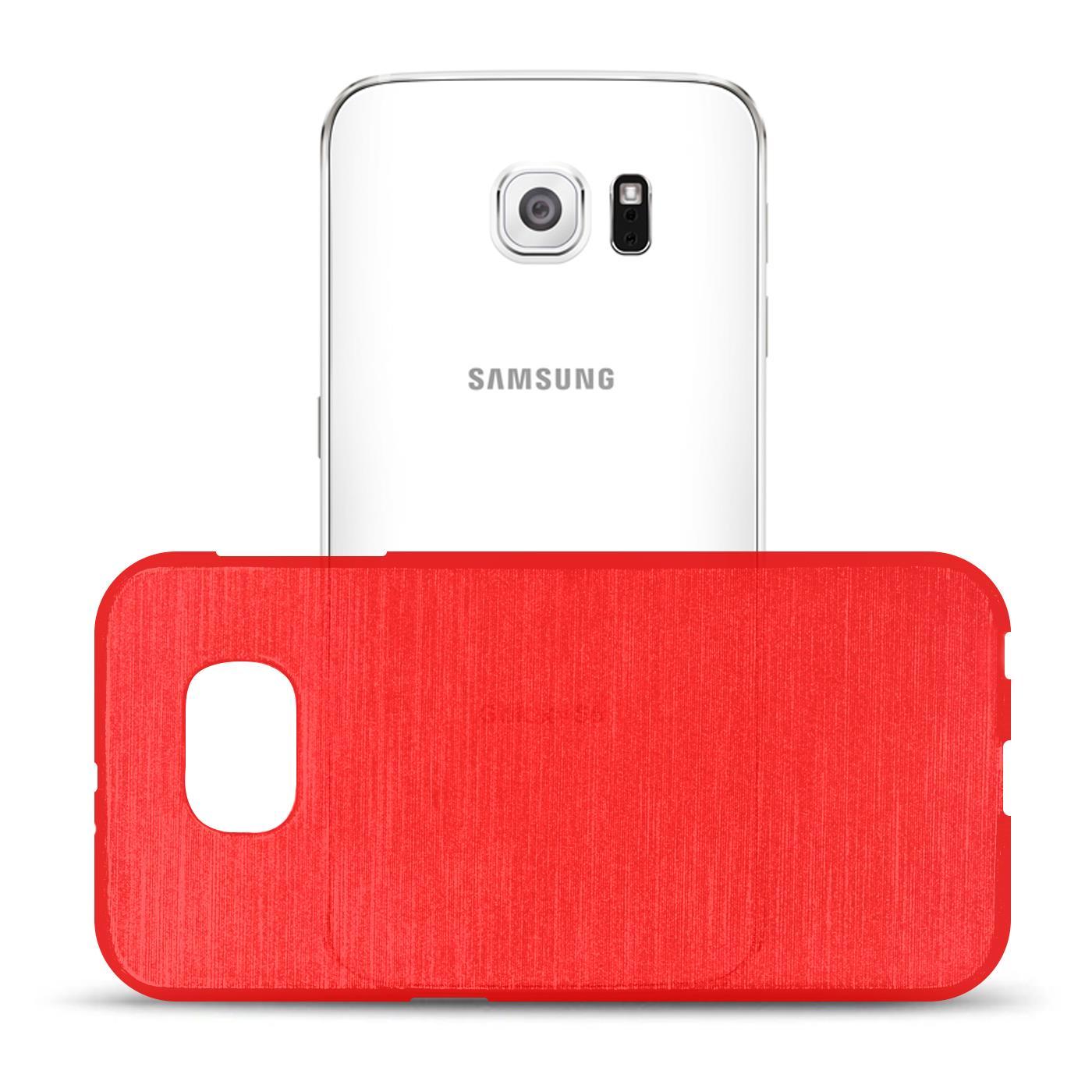 Silikon-Bumper-Case-fuer-Samsung-Galaxy-s6-duenne-ultra-slim-Stossfeste-Rueckschale Indexbild 36