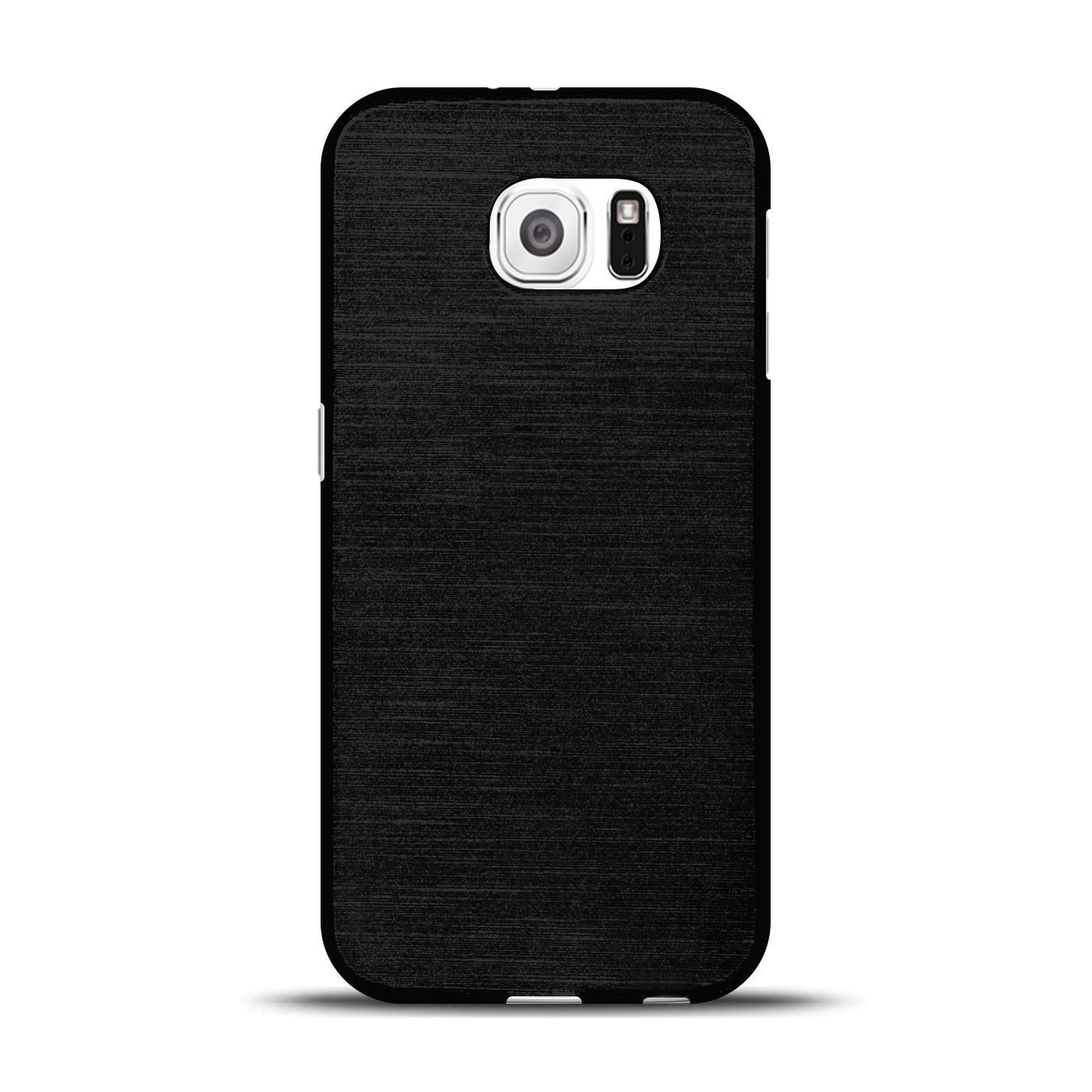 Silikon-Bumper-Case-fuer-Samsung-Galaxy-s6-duenne-ultra-slim-Stossfeste-Rueckschale Indexbild 38