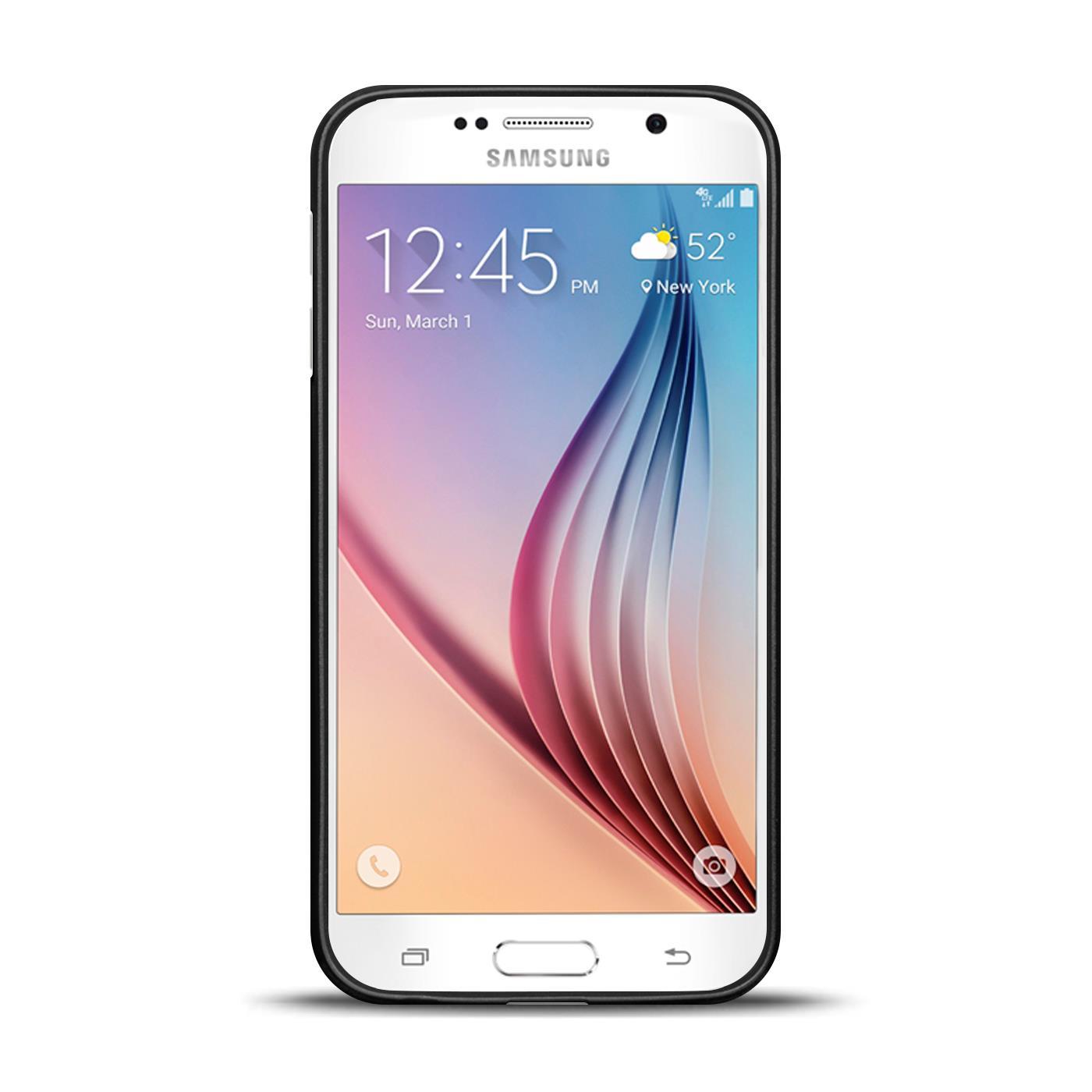 Silikon-Bumper-Case-fuer-Samsung-Galaxy-s6-duenne-ultra-slim-Stossfeste-Rueckschale Indexbild 39