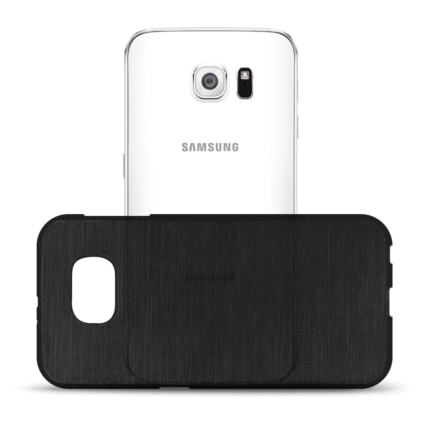 Silikon-Bumper-Case-fuer-Samsung-Galaxy-s6-duenne-ultra-slim-Stossfeste-Rueckschale Indexbild 40