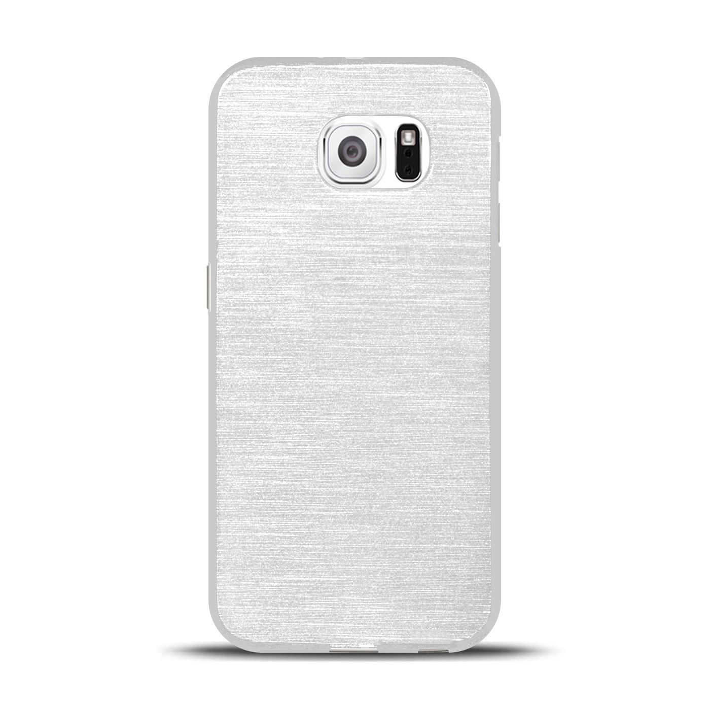Silikon-Bumper-Case-fuer-Samsung-Galaxy-s6-duenne-ultra-slim-Stossfeste-Rueckschale Indexbild 42