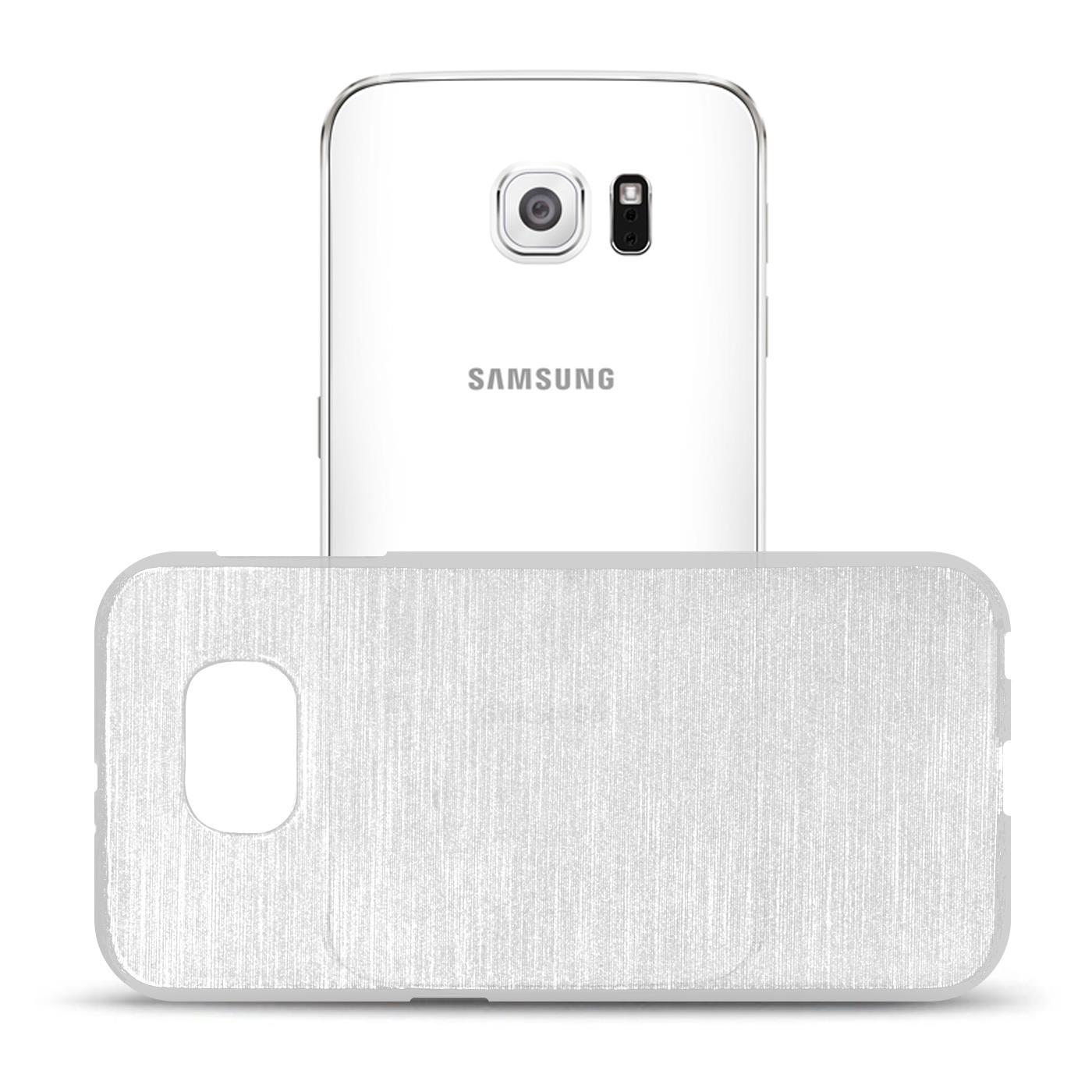 Silikon-Bumper-Case-fuer-Samsung-Galaxy-s6-duenne-ultra-slim-Stossfeste-Rueckschale Indexbild 44