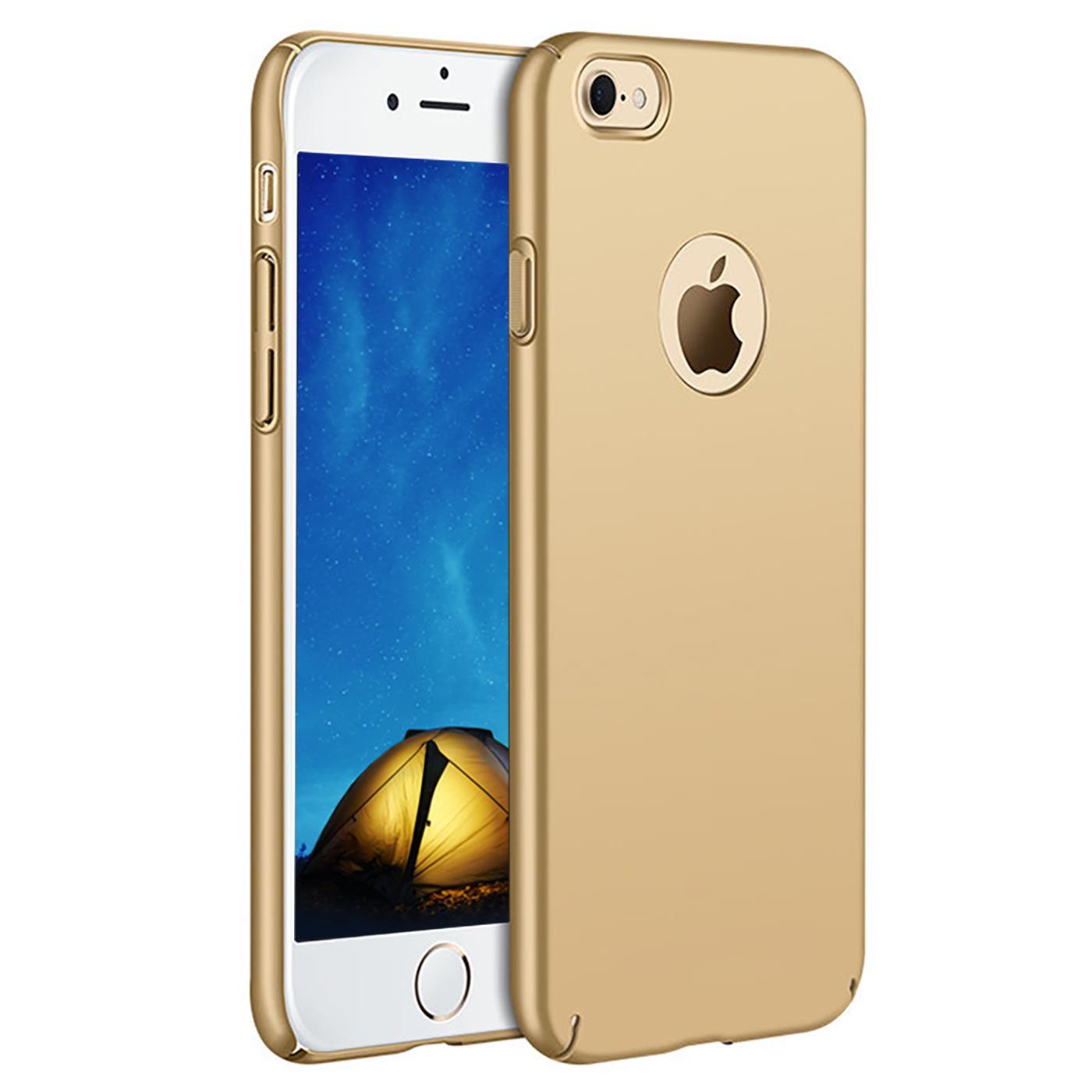 Slim-Cover-Schutzhuelle-Apple-iPhone-Handy-Schutz-Tasche-Huelle-Glas-Panzer-Folie Indexbild 21