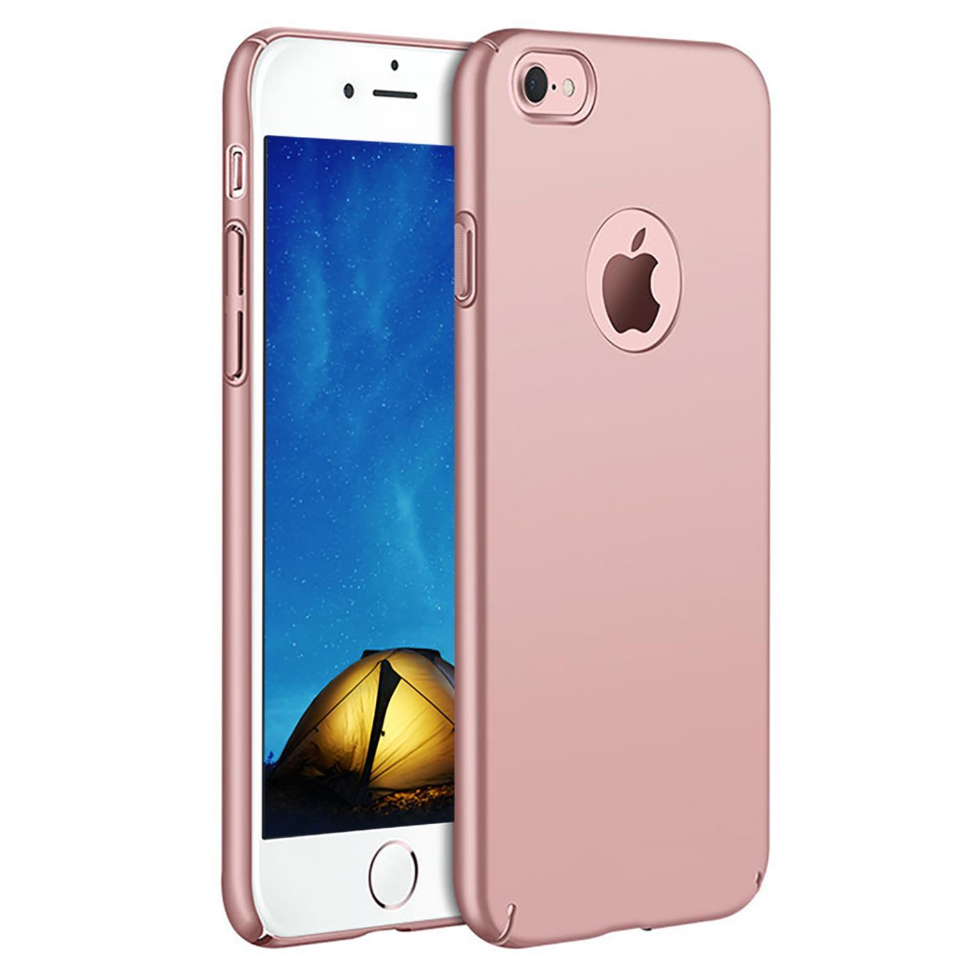 Slim-Cover-Schutzhuelle-Apple-iPhone-Handy-Schutz-Tasche-Huelle-Glas-Panzer-Folie Indexbild 27