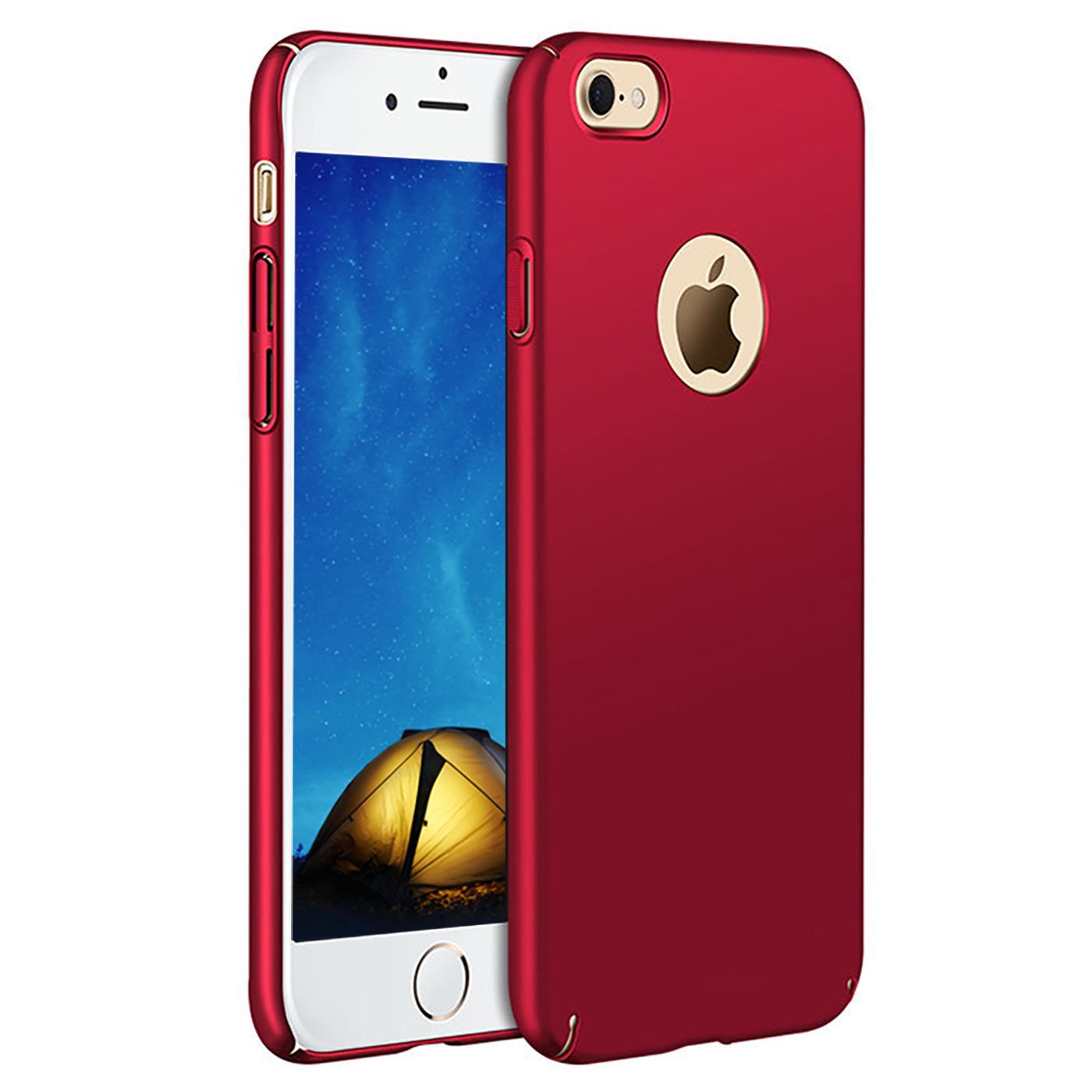 Slim-Cover-Schutzhuelle-Apple-iPhone-Handy-Schutz-Tasche-Huelle-Glas-Panzer-Folie Indexbild 33
