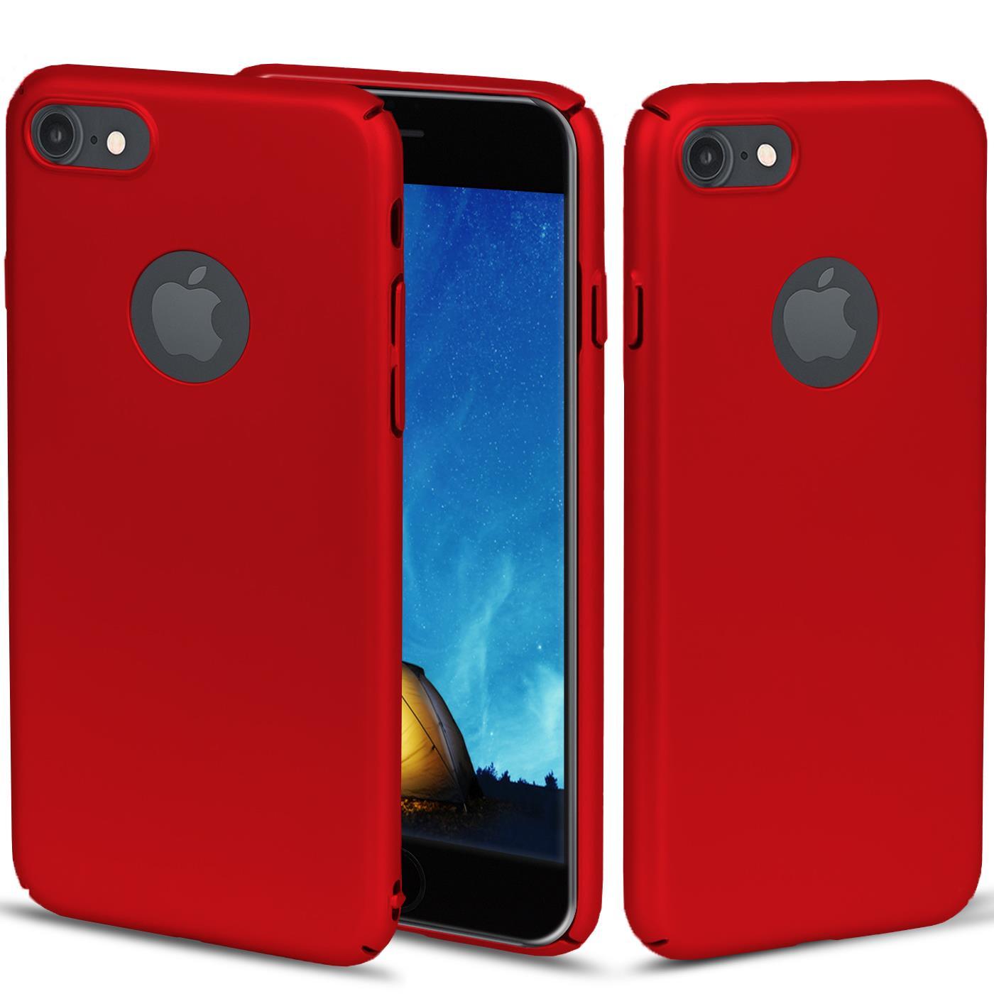 Slim-Cover-Schutzhuelle-Apple-iPhone-Handy-Schutz-Tasche-Huelle-Glas-Panzer-Folie Indexbild 35
