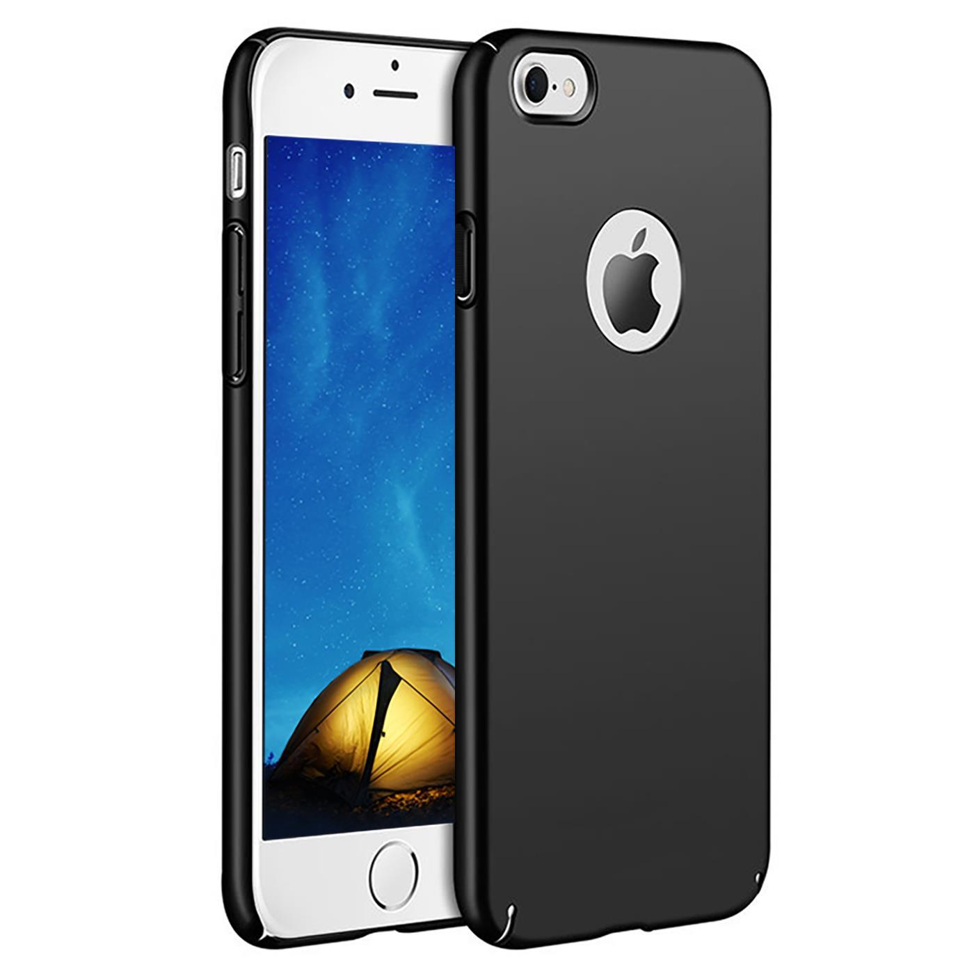 Slim-Cover-Schutzhuelle-Apple-iPhone-Handy-Schutz-Tasche-Huelle-Glas-Panzer-Folie Indexbild 9