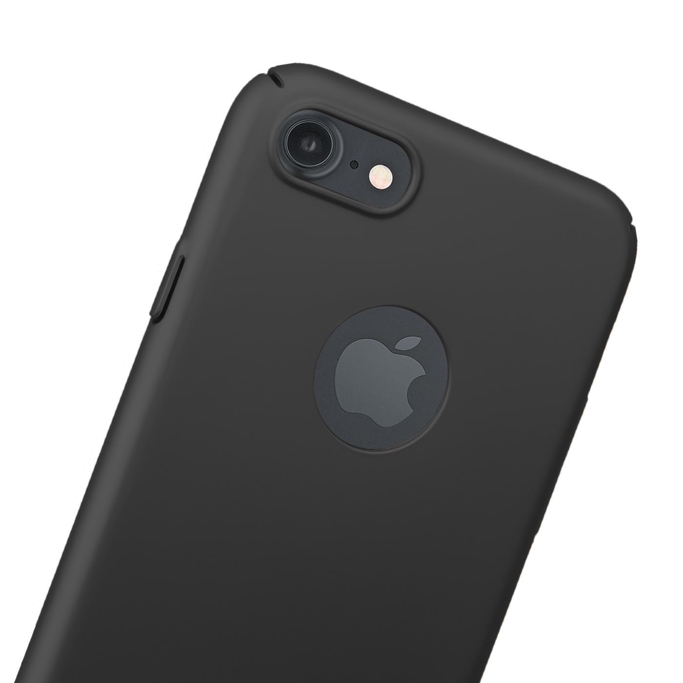 Slim-Cover-Schutzhuelle-Apple-iPhone-Handy-Schutz-Tasche-Huelle-Glas-Panzer-Folie Indexbild 11