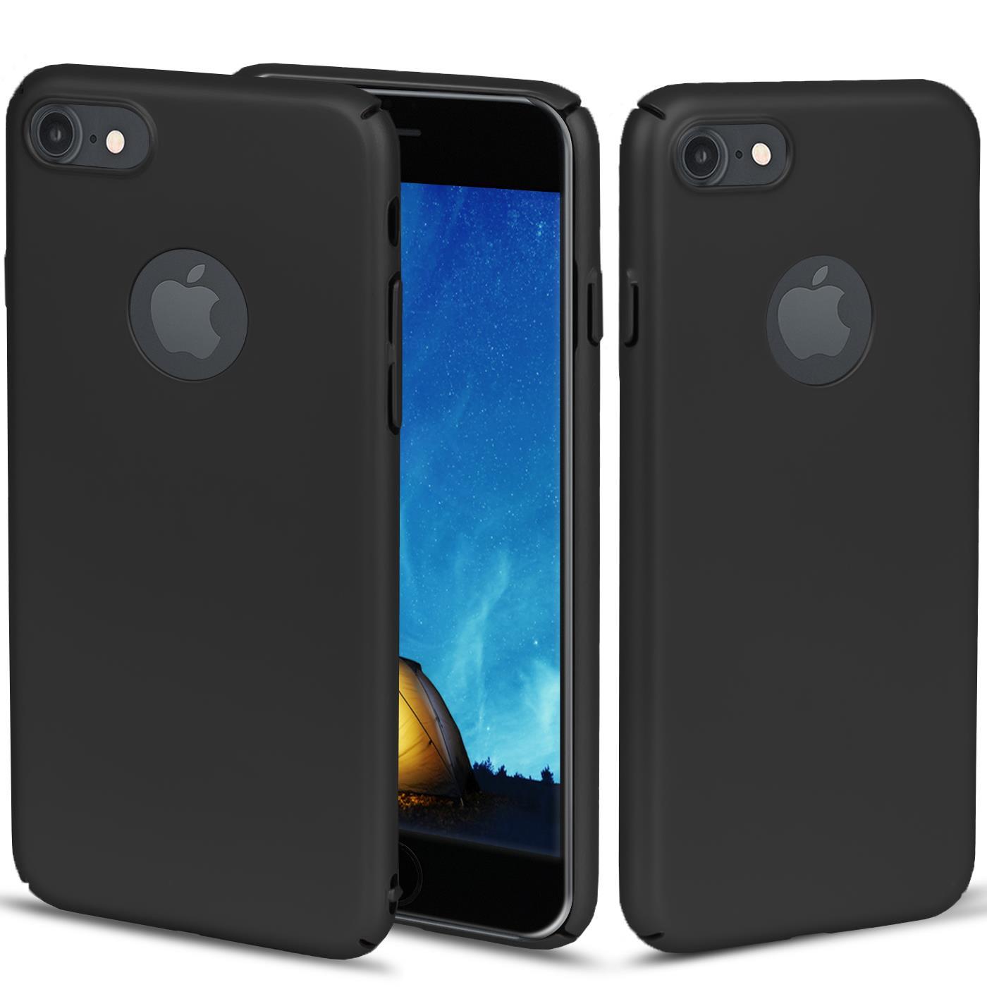Slim-Cover-Schutzhuelle-Apple-iPhone-Handy-Schutz-Tasche-Huelle-Glas-Panzer-Folie Indexbild 13