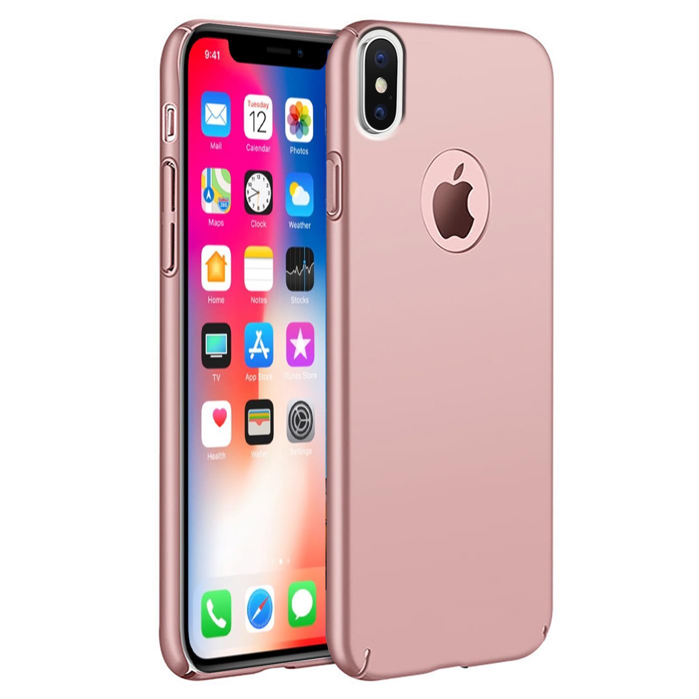 Handy Schutzhülle für Apple iPhone Slim Cover Hülle Schutz Case Tasche Dünn Etui