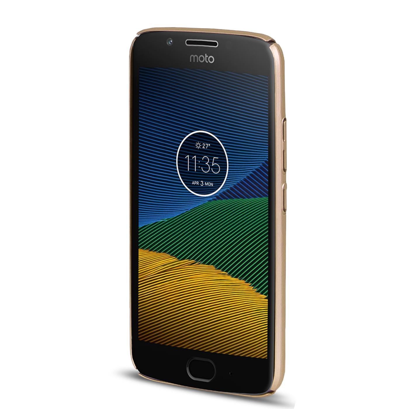 Motorola-Lenovo-Moto-G5-Huelle-Hardcase-Case-Schutz-Cover-Slim-Tasche-Handyhuelle Indexbild 2